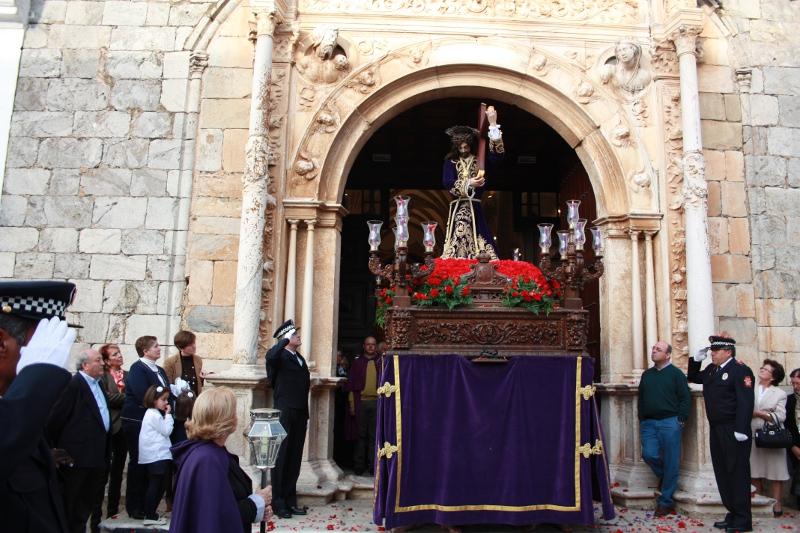 La Real Archicofradía de Nuestro Señor Jesús de los Pasos festeja a su patrón