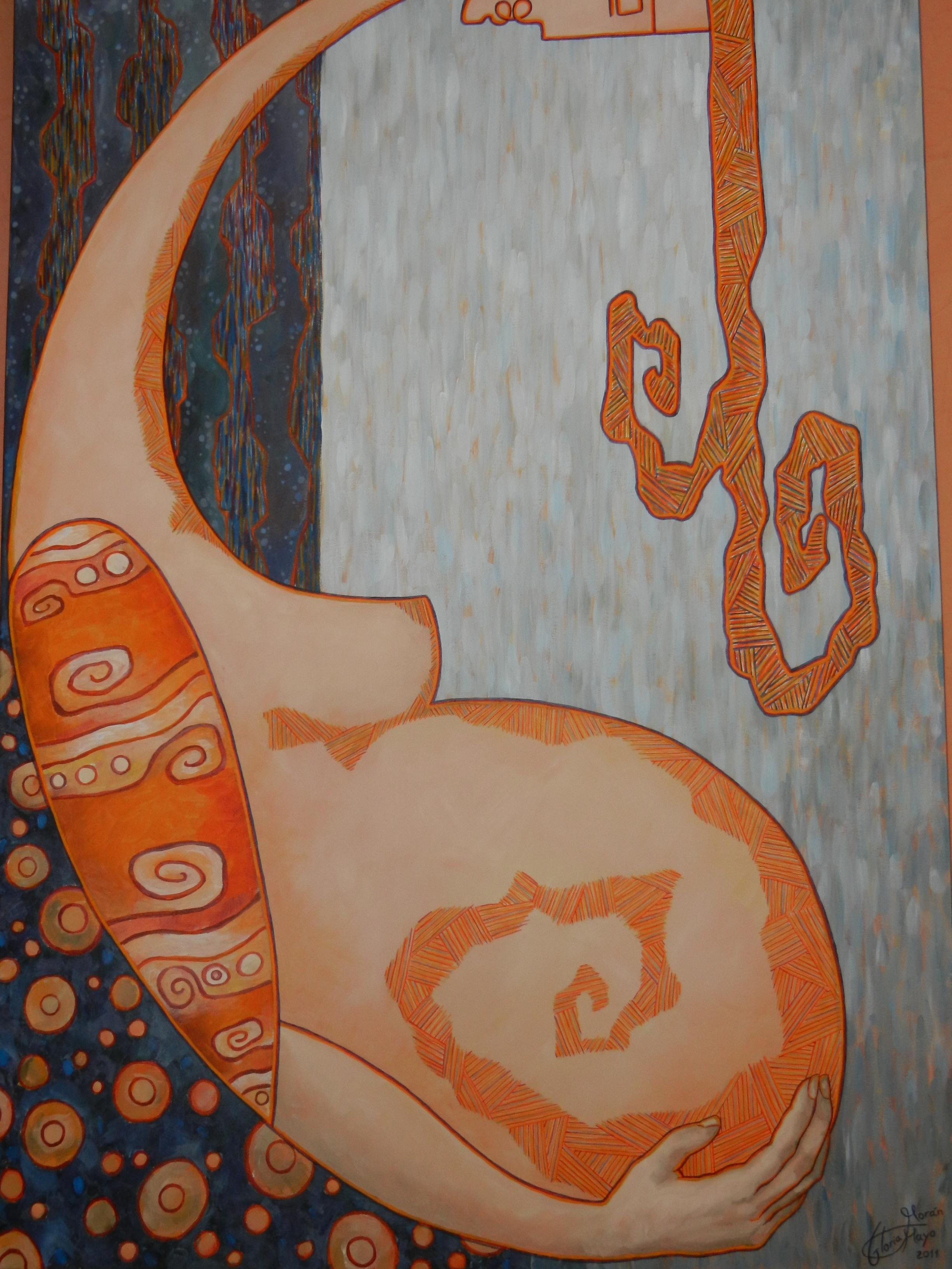 Exposición de la artista de Gloria Morán Mayo