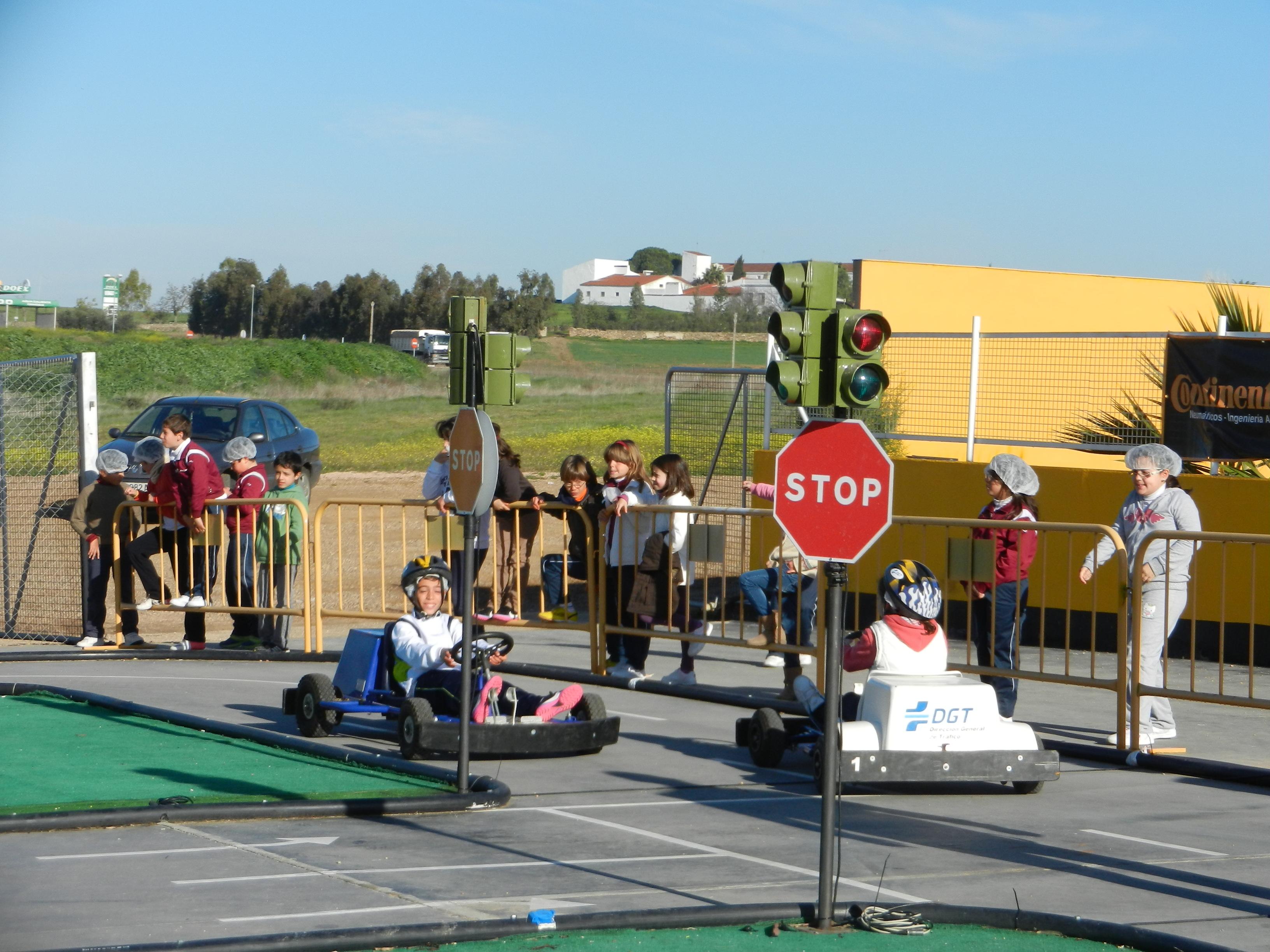 Circuito de Educación Vial en Karting Olivenza