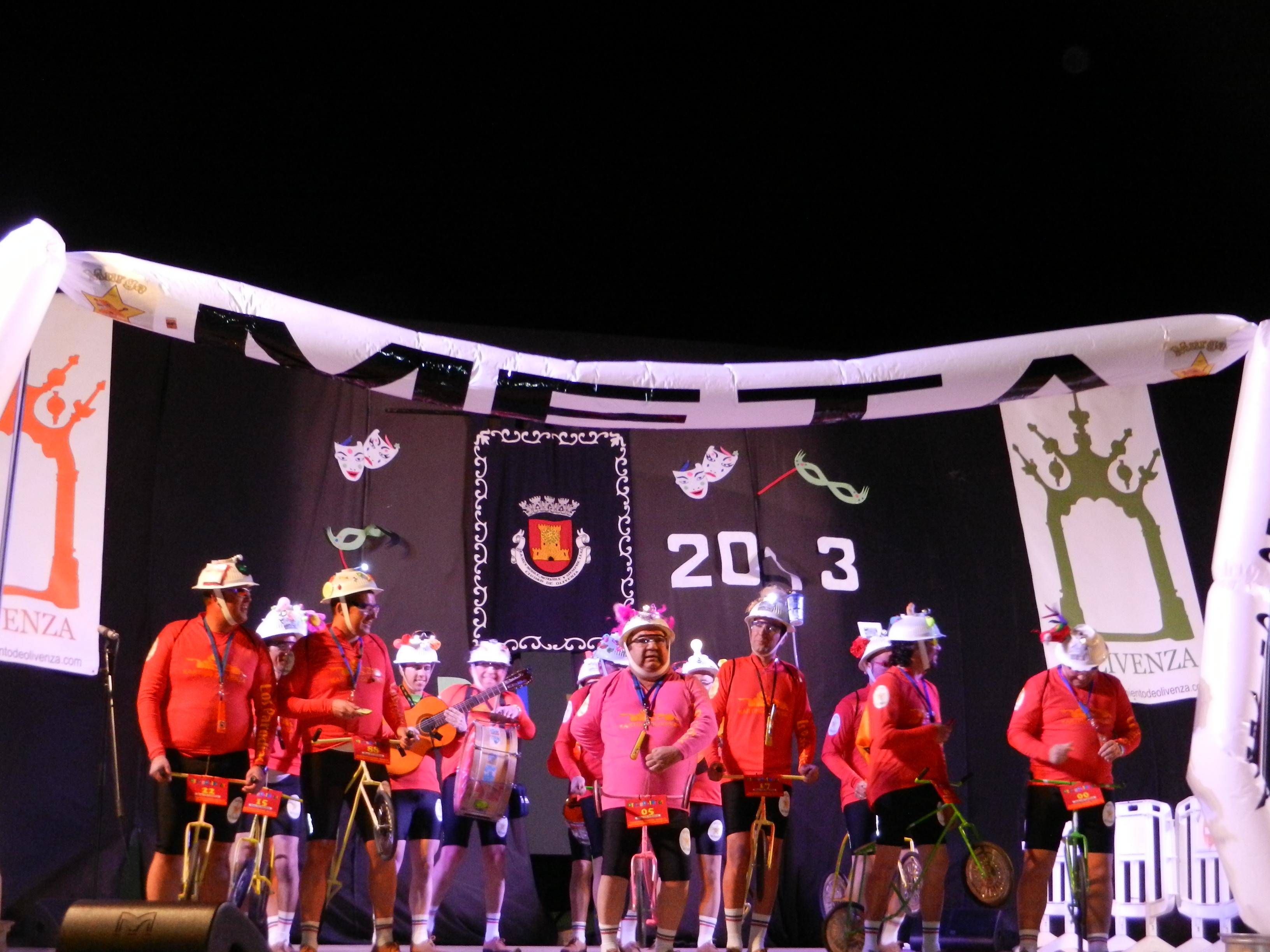 Este año Los Parodias hacen deporte en carnavales