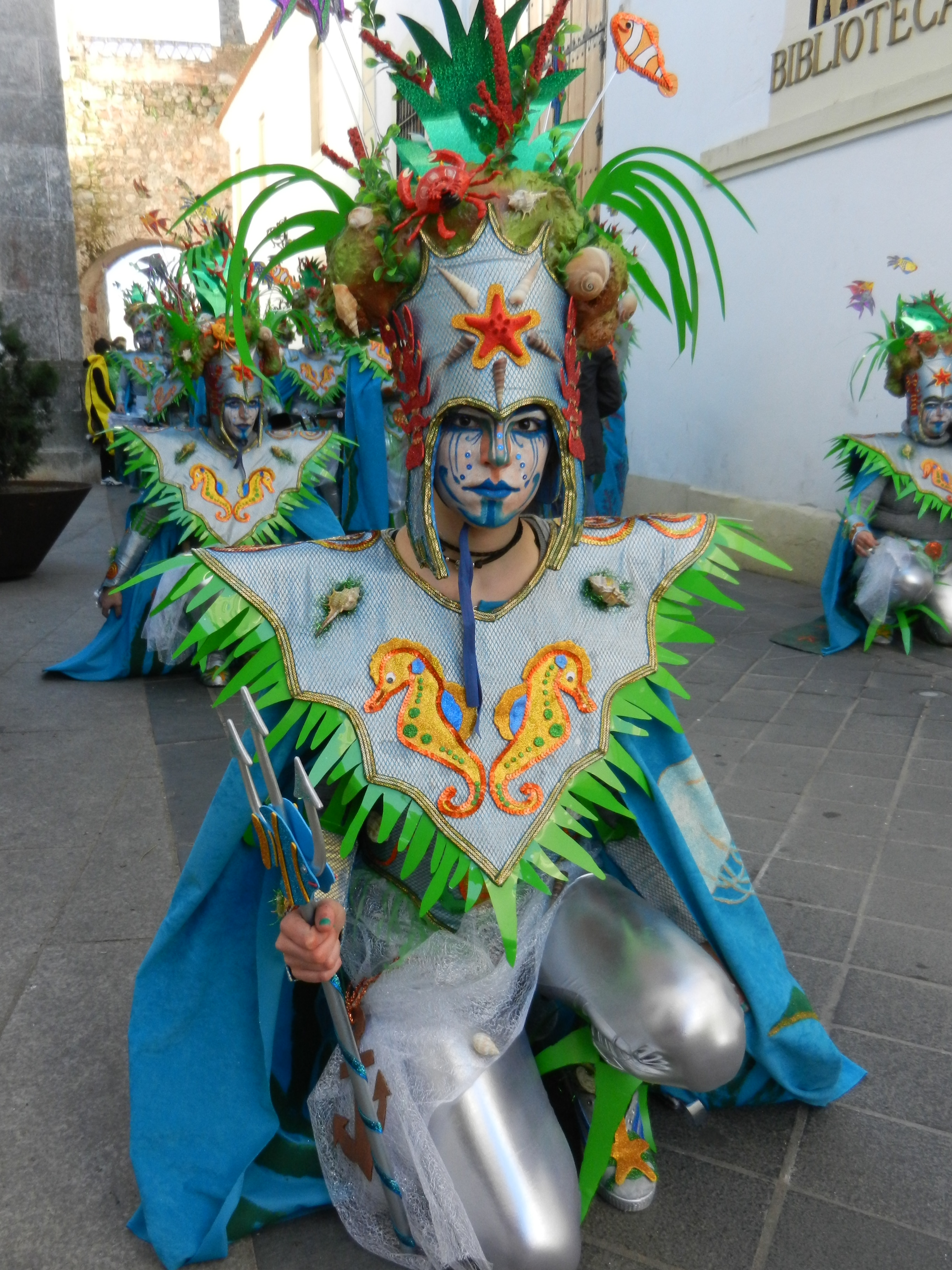 Tarakanova en el desfile del sábado