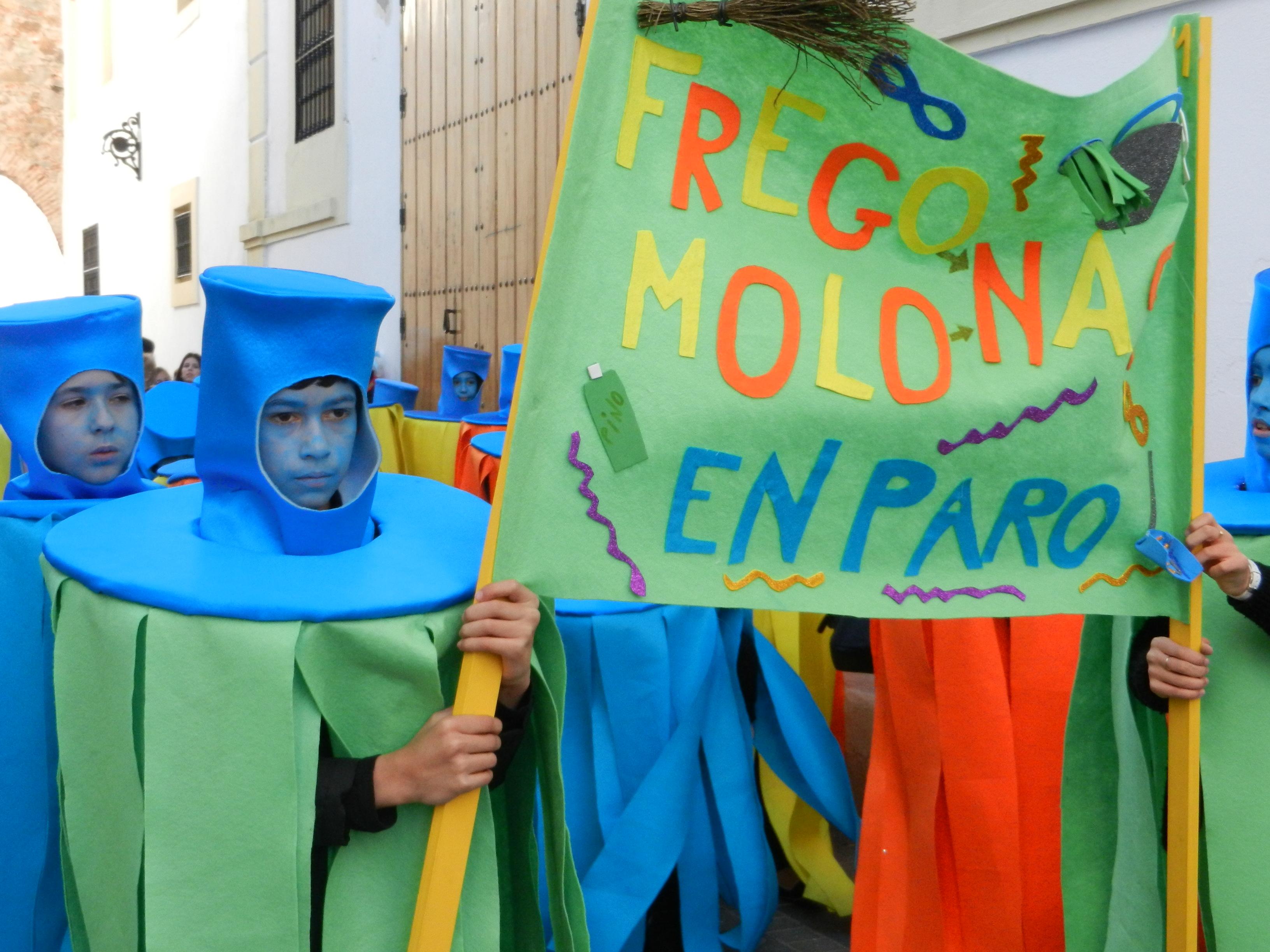 Las fregonas molonas buscan trabajo en carnaval