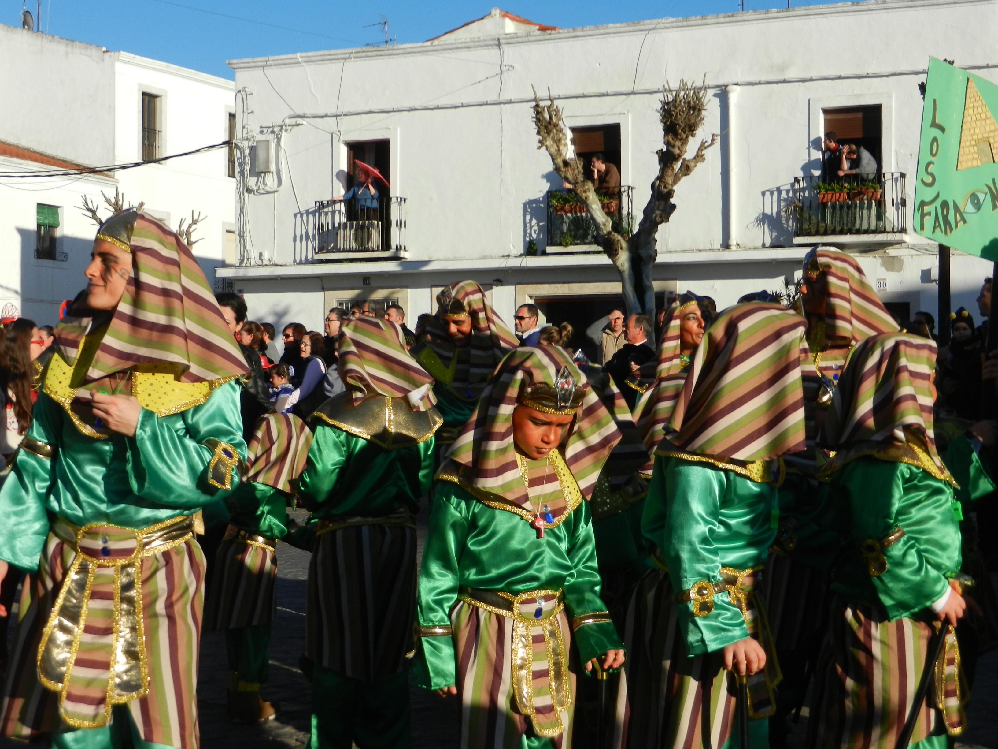 Los faraones del carnaval
