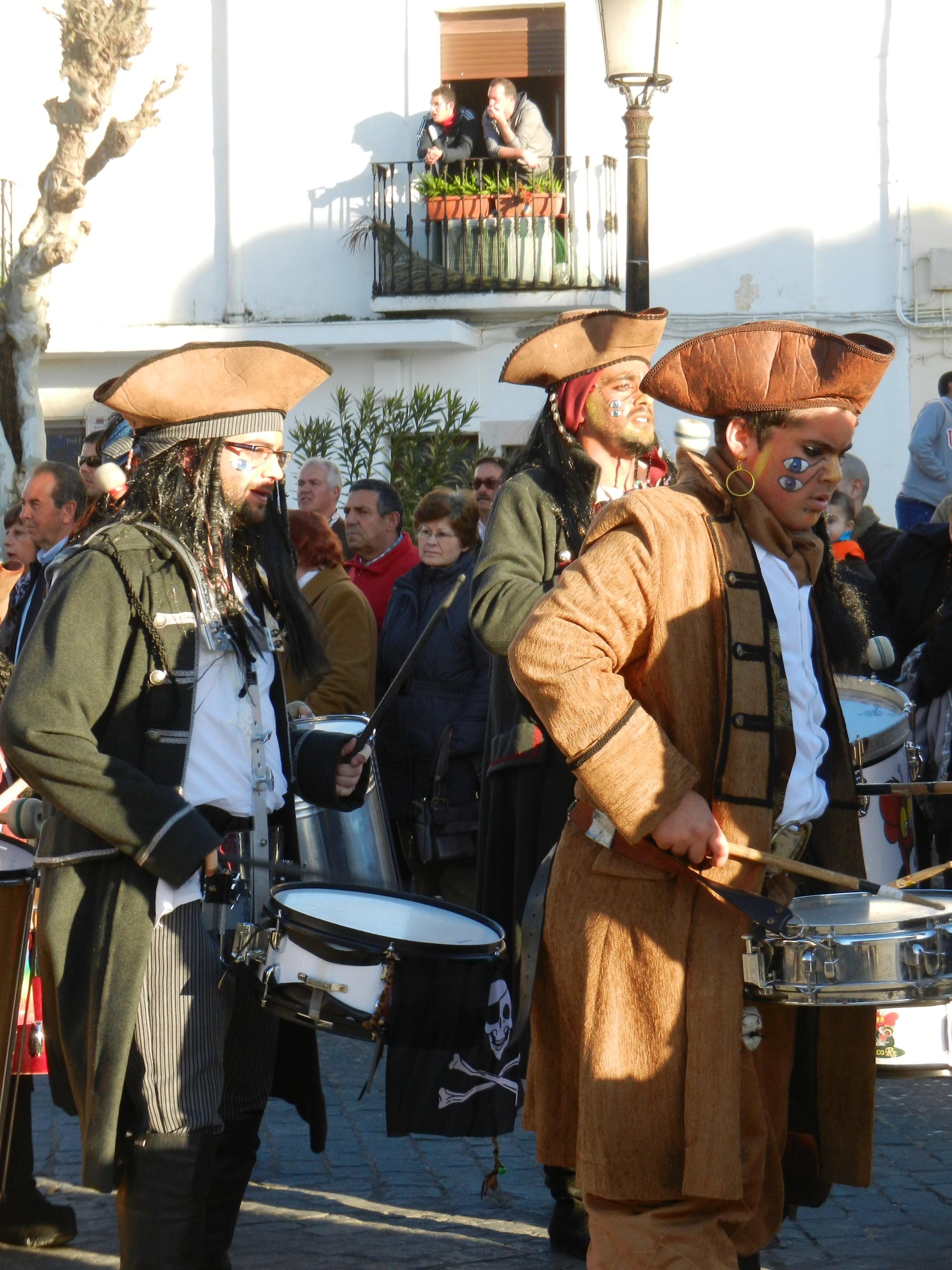 Vaya Tela en el desfile del sábado