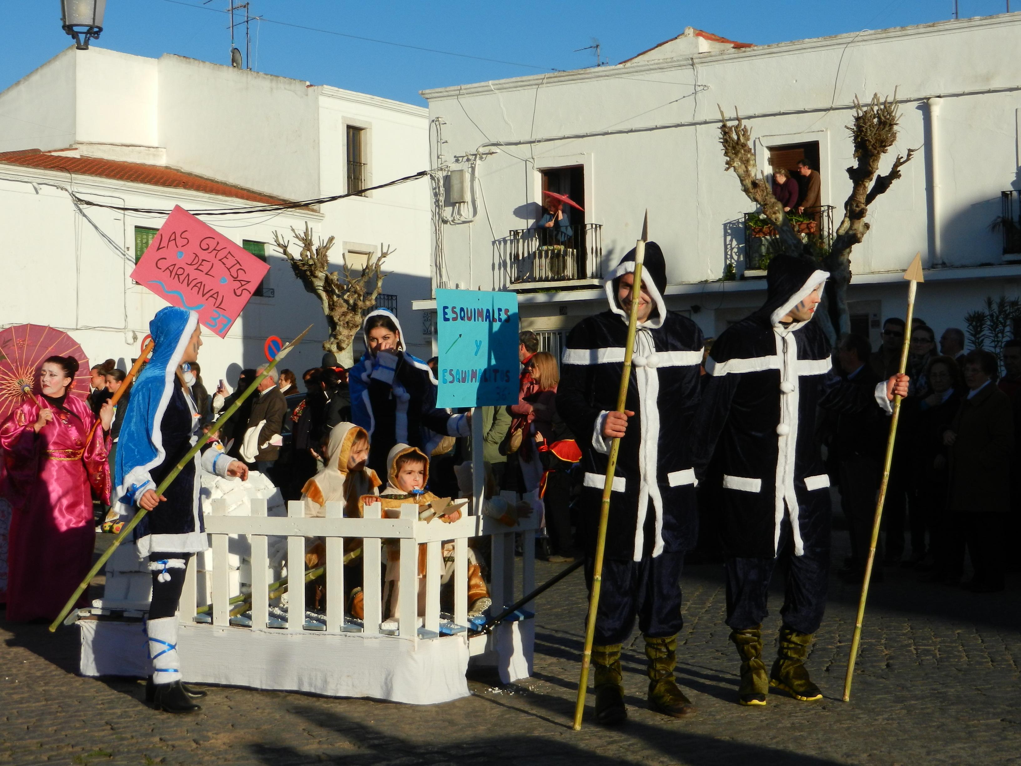 Los esquimales salen en carnaval
