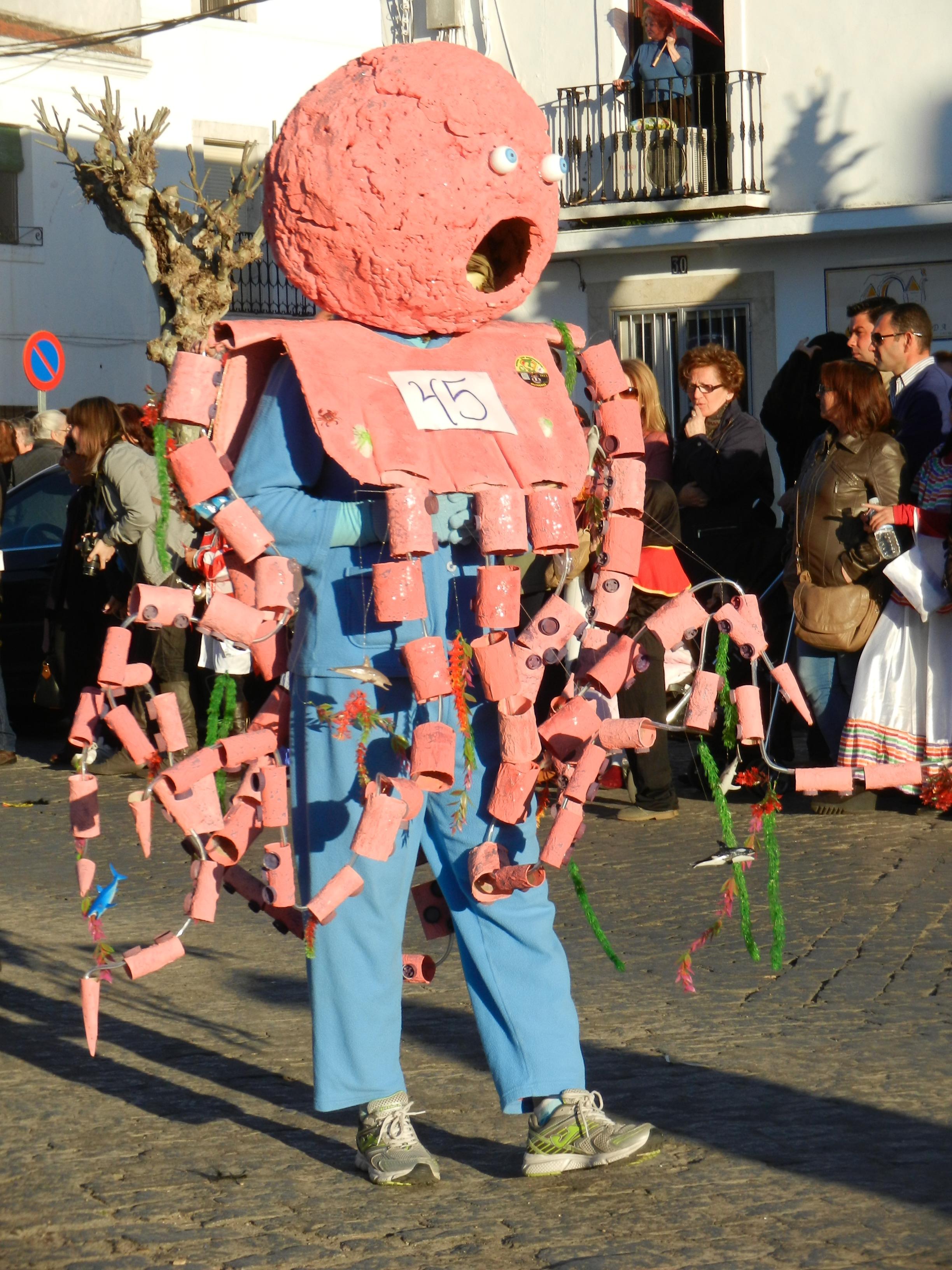 Desfile de carnaval 2013