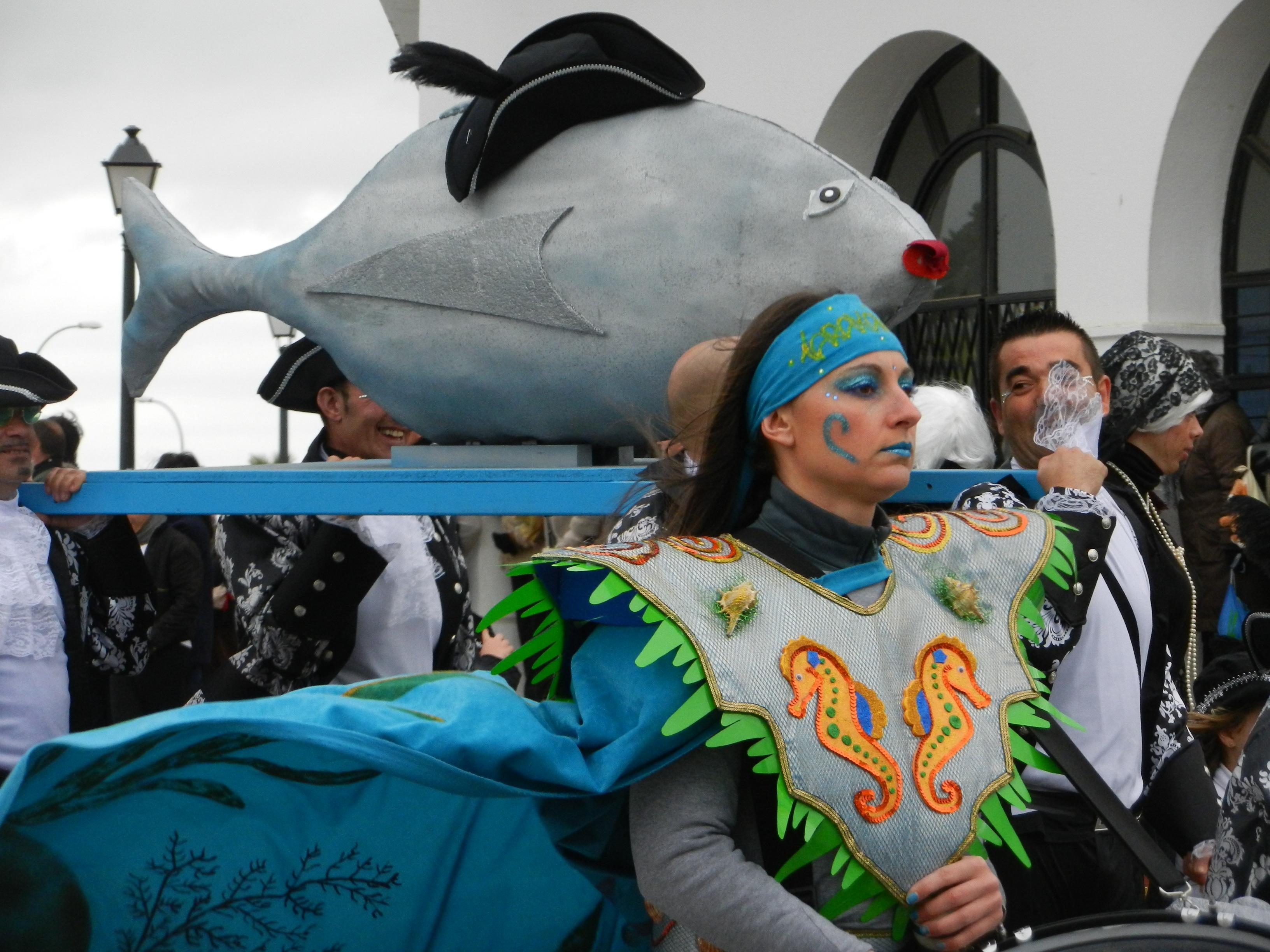 La sardina en el desfile
