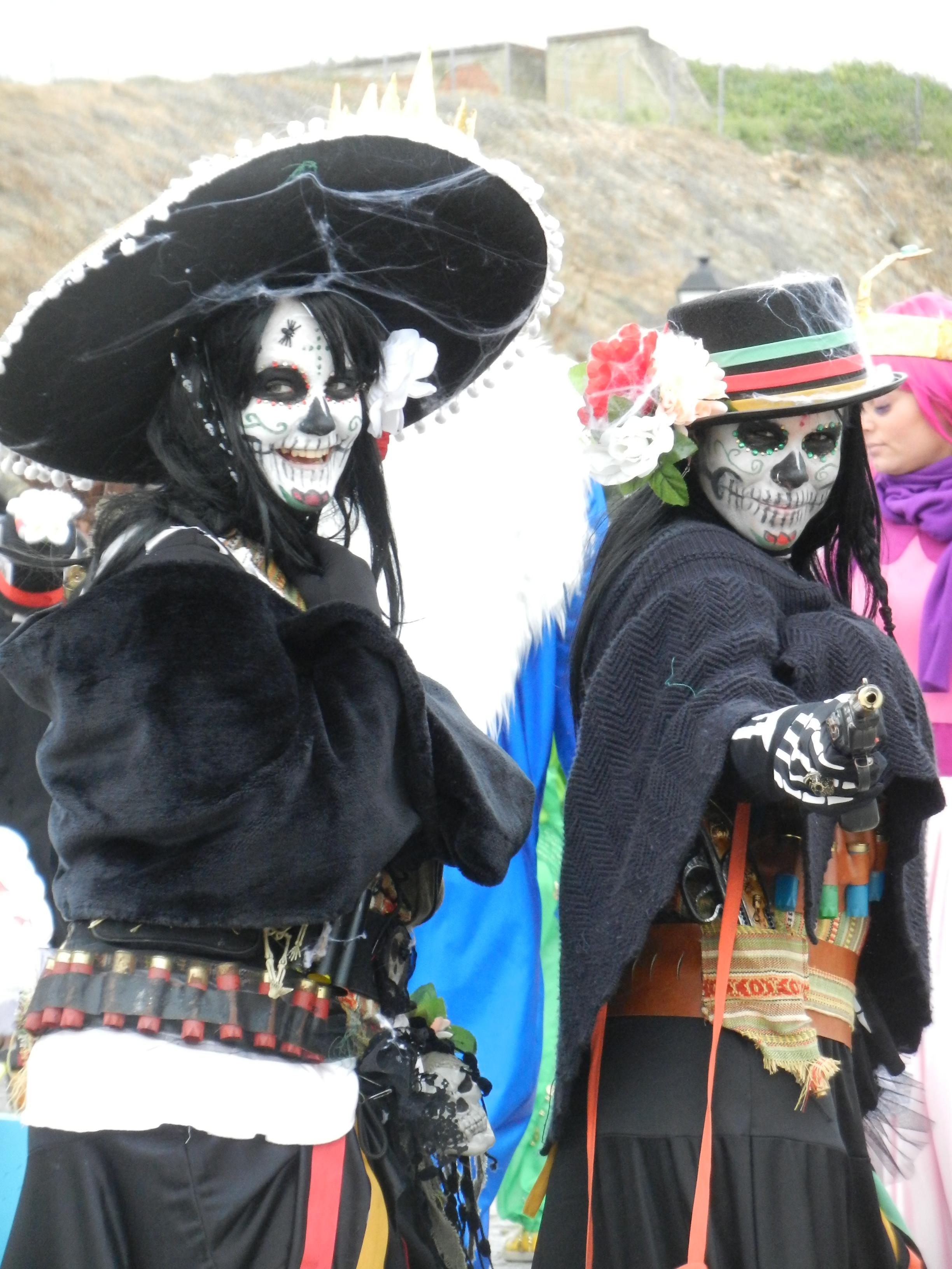 Desfile de carnaval el domingo