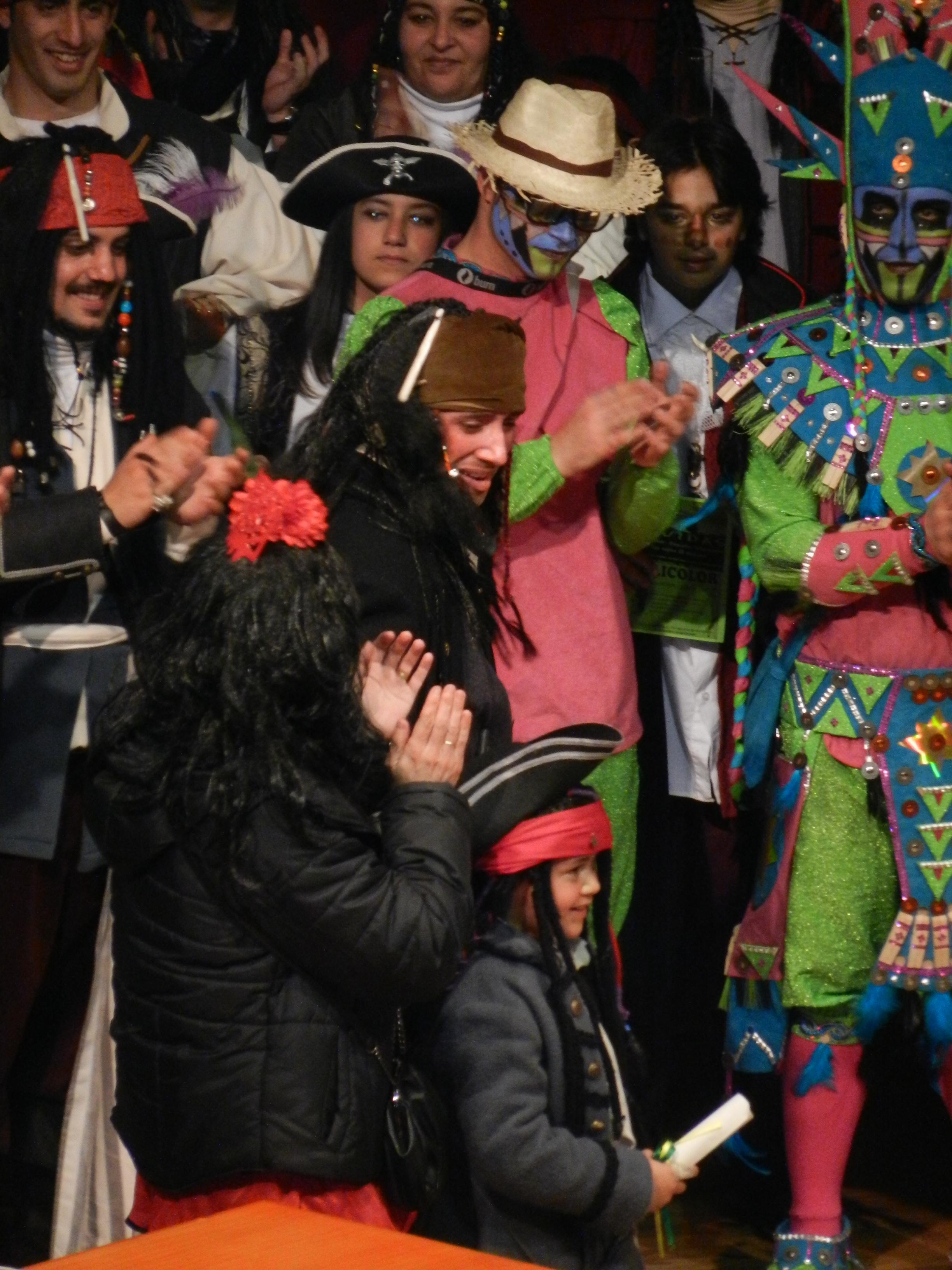 Entrega de premios del Carnaval 2013