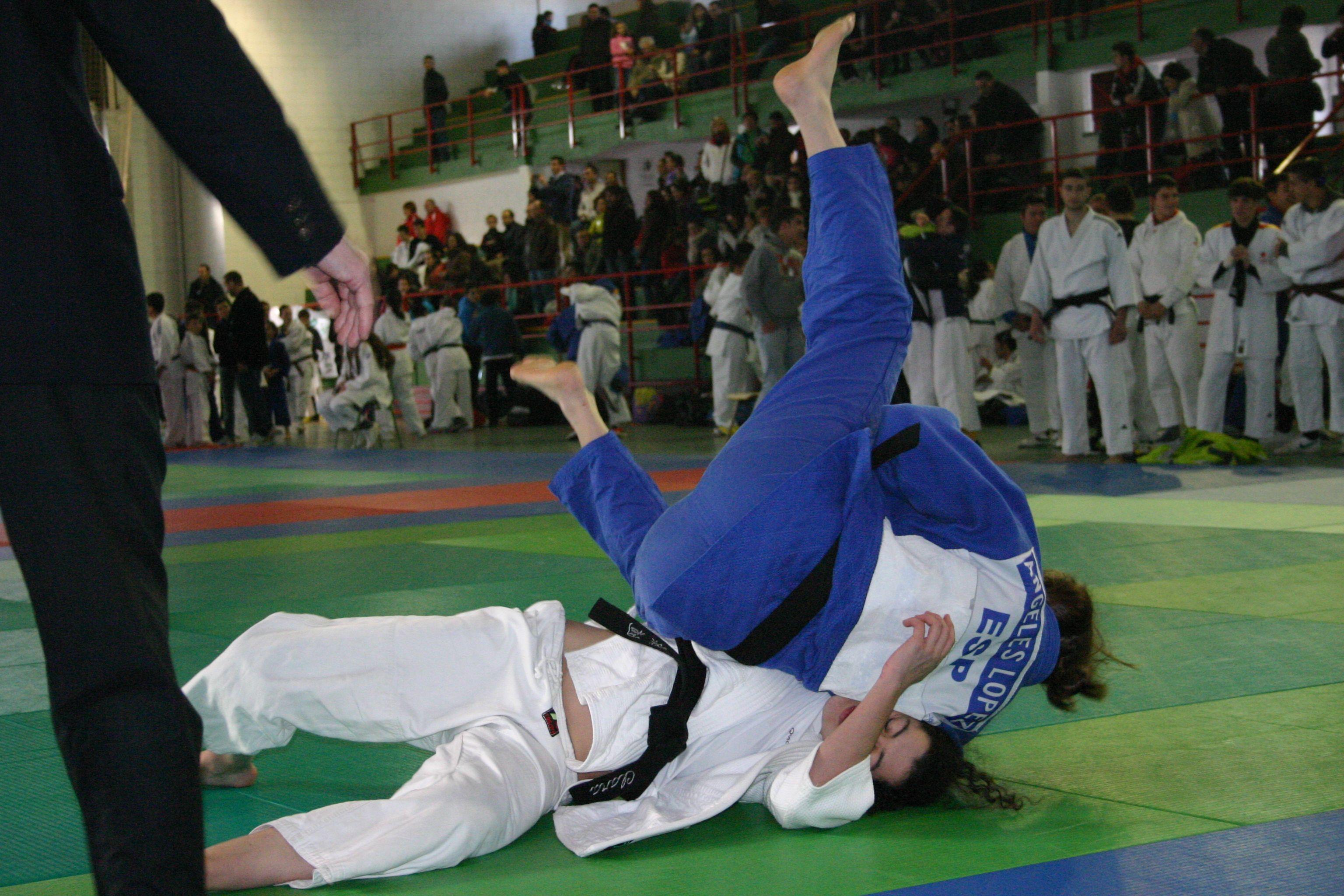 Irene Mimbrero vence a Ana Sánchez en menos de 52 Kg. de la categoría cadete en 1ª Fase XXXI JUDEX