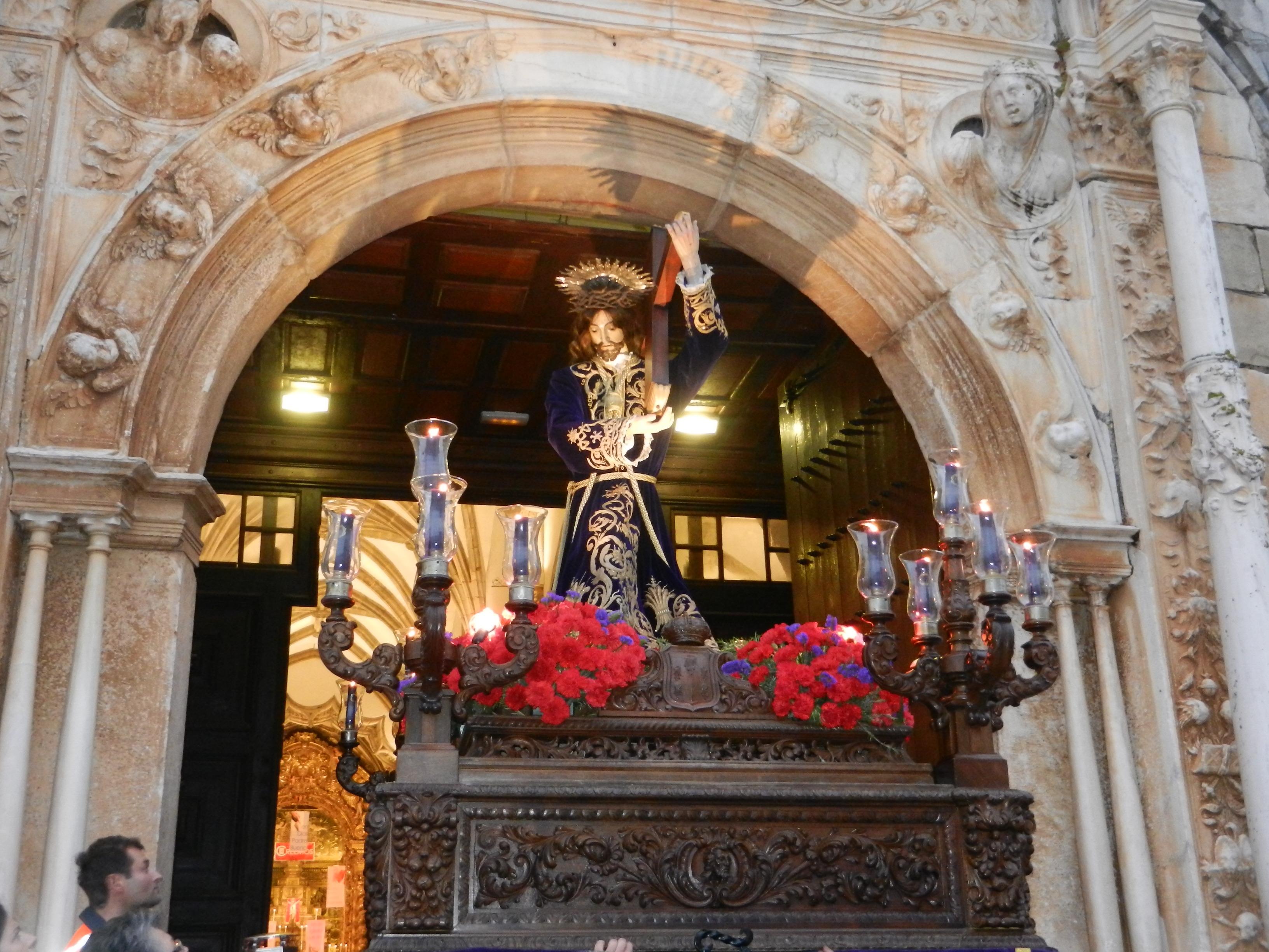 Nuestro Señor Jesús de los Pasos se asoma a Olivenza