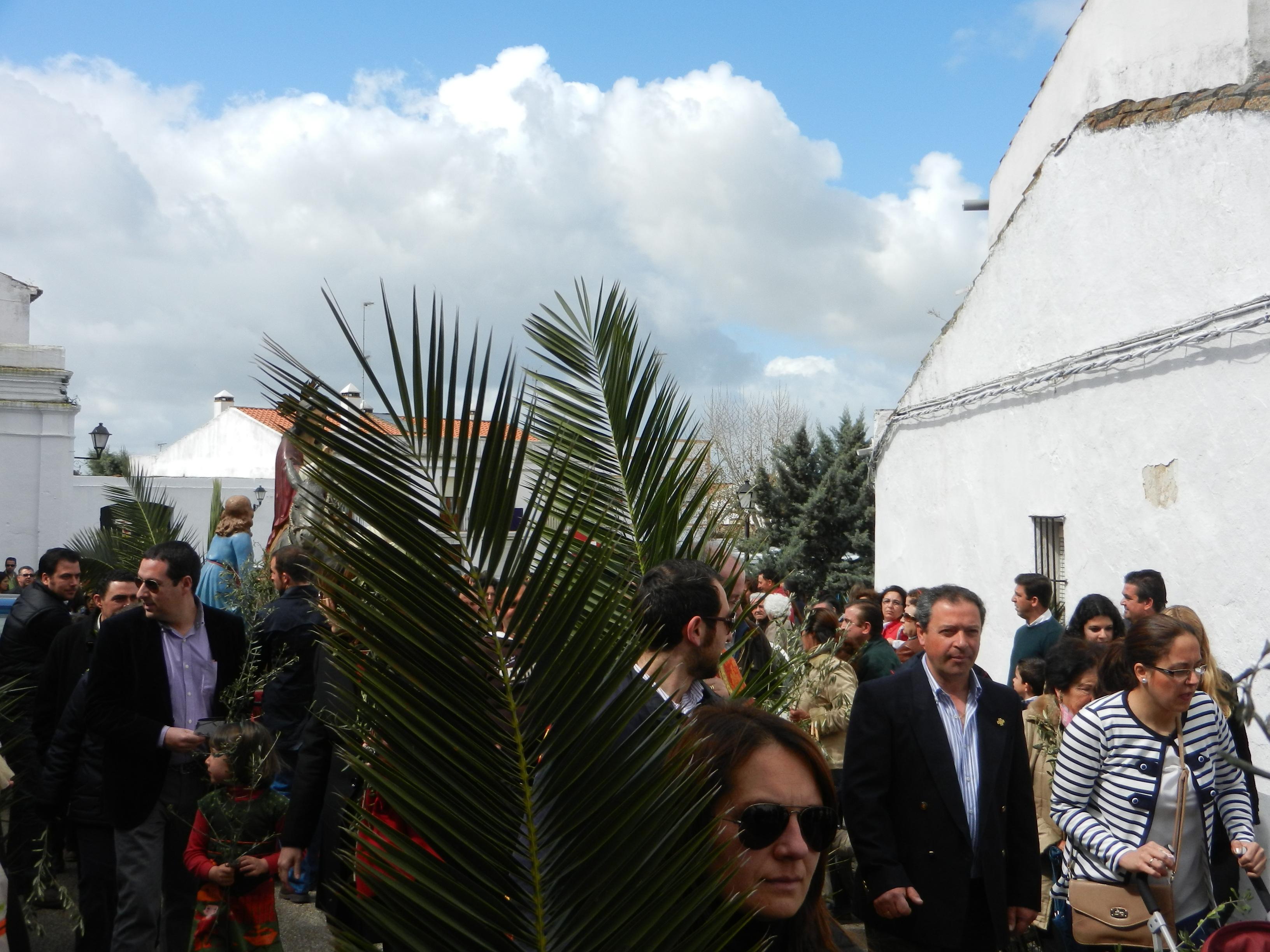 Domingo de Ramos en Olivenza