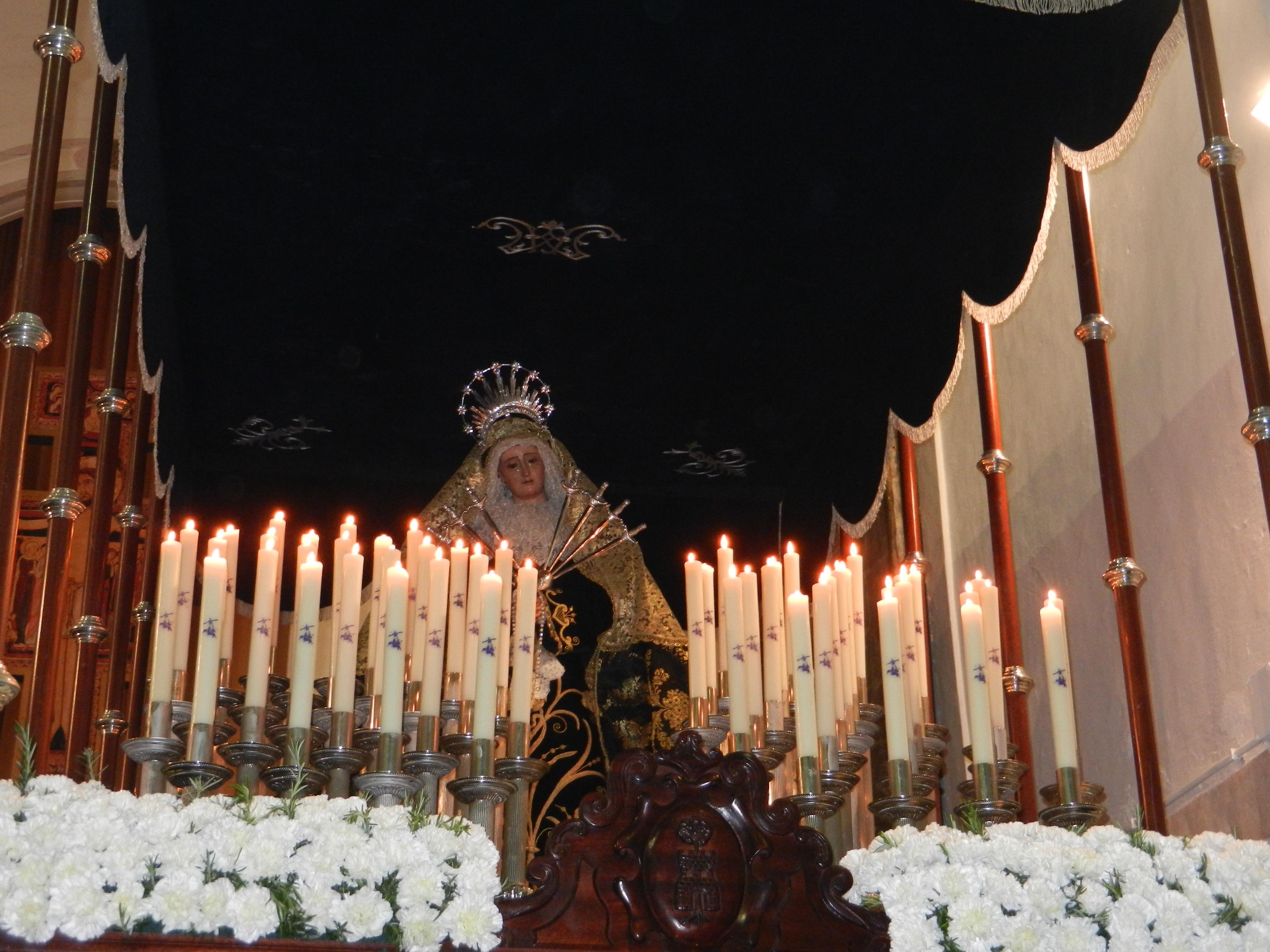 La Santísima Virgen de los Dolores