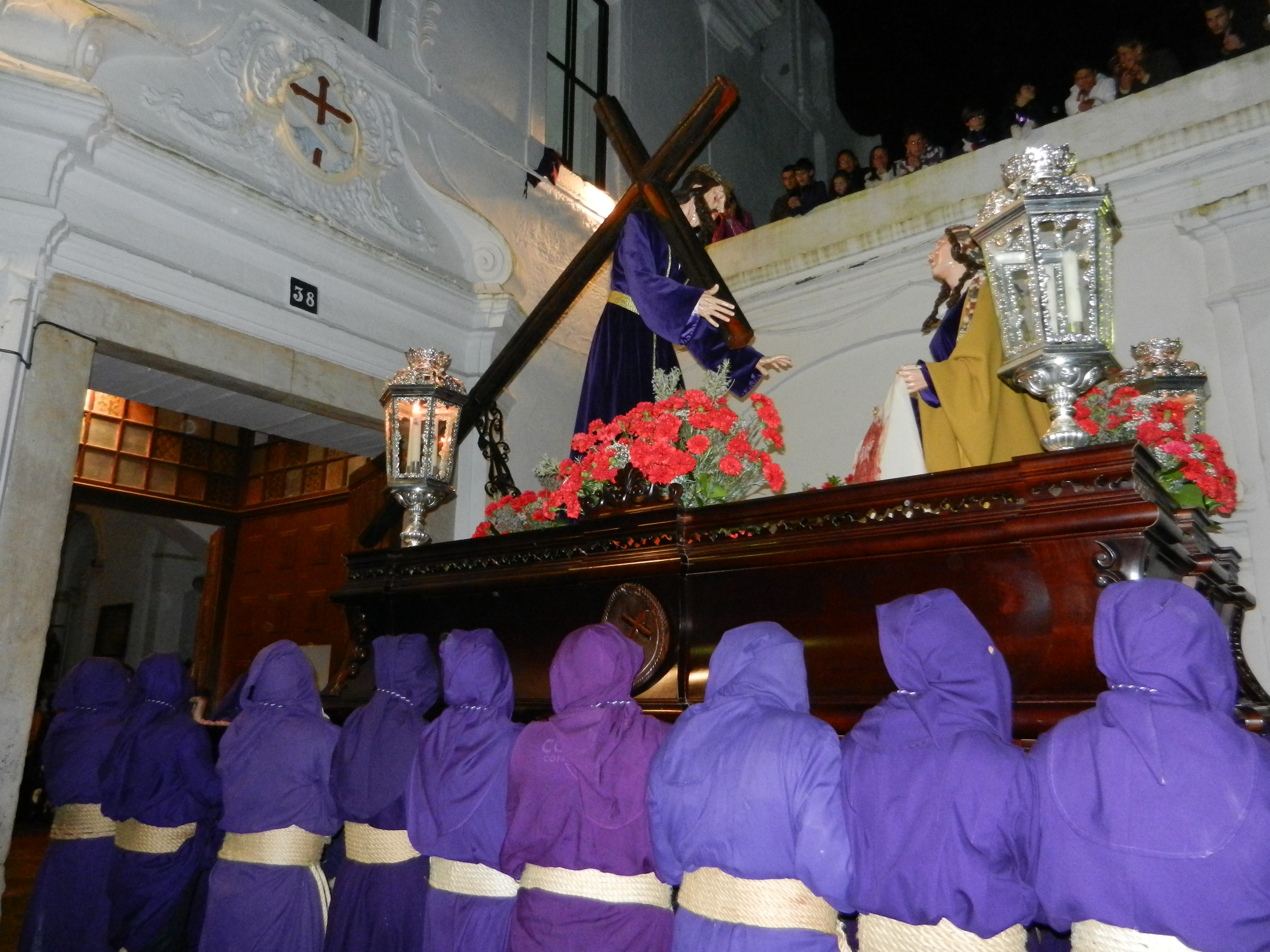 Jesús Nazareno vuelve al templo