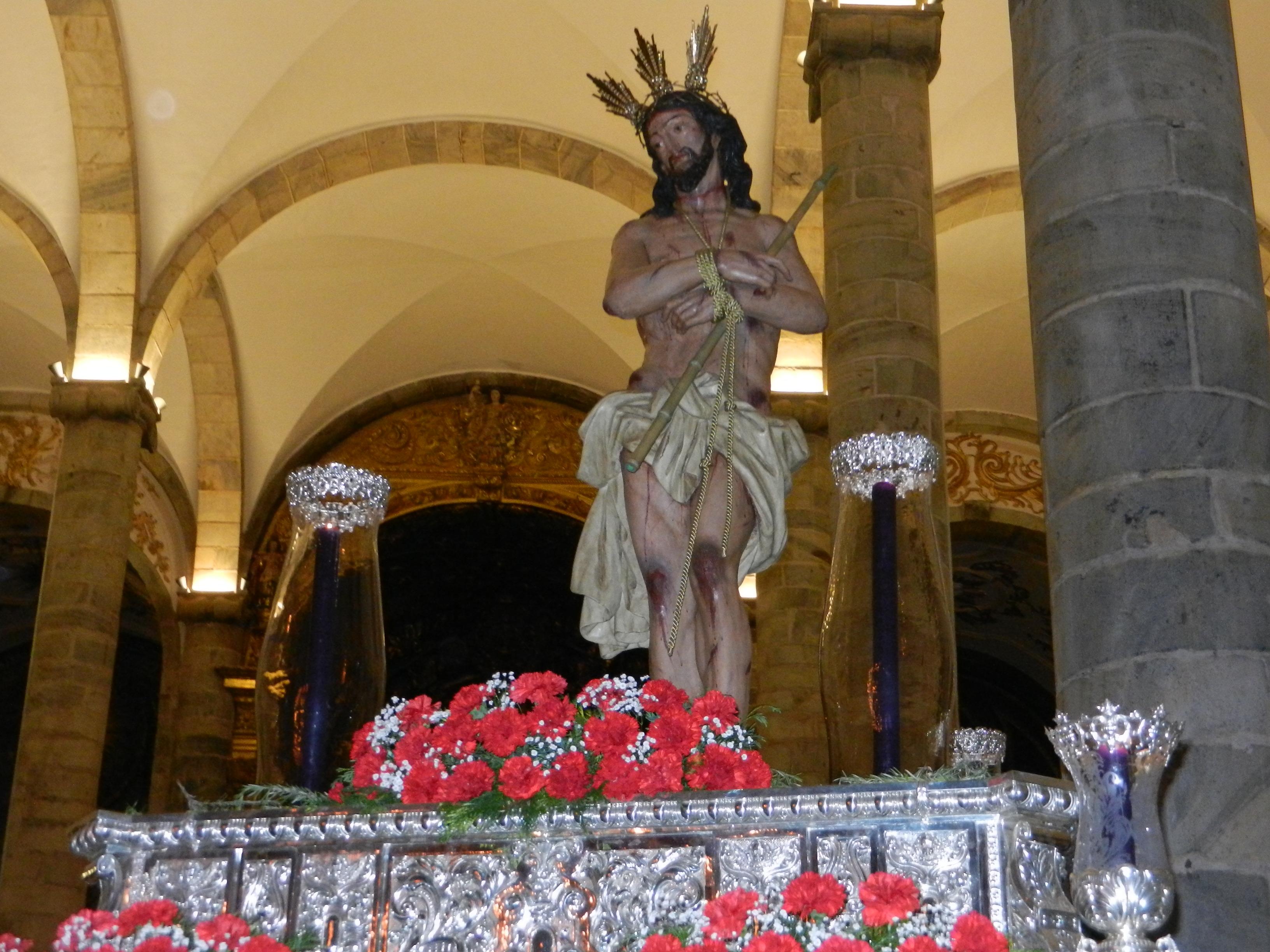 Jesús de la Caña Verde vuelve a pasear por el templo