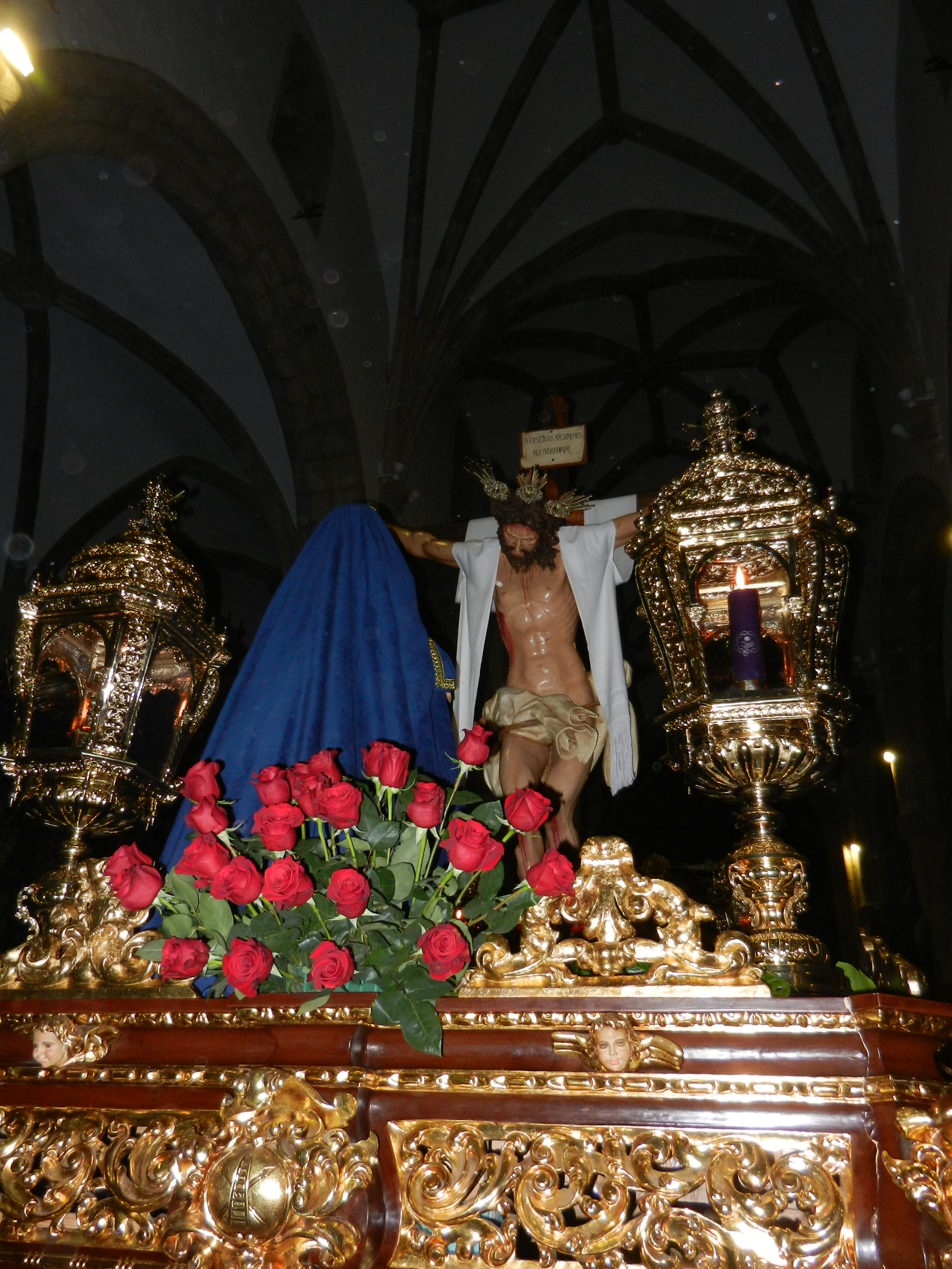 El Cristo y la Virgen de la Magdalena