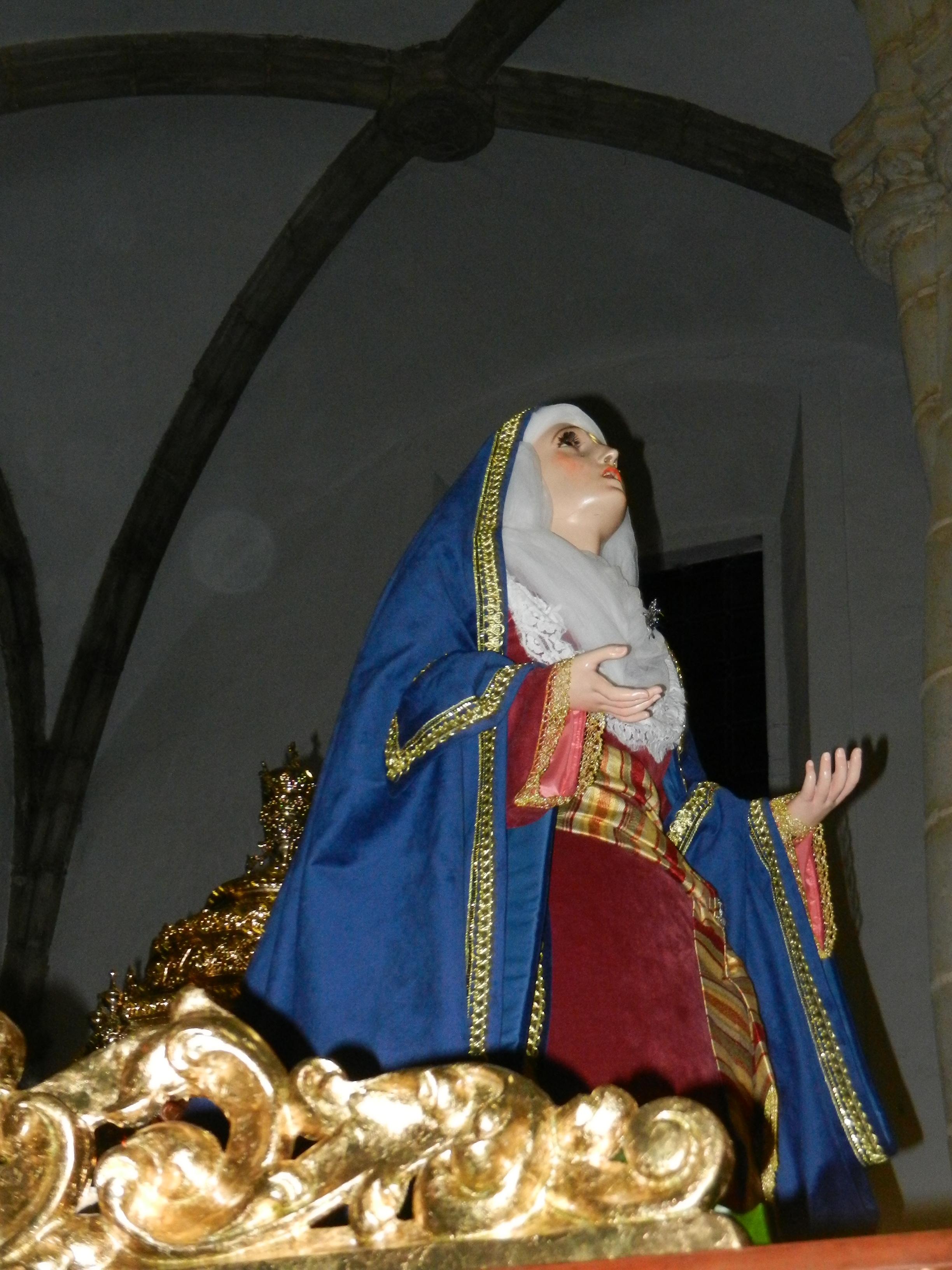 La Virgen de la Magdalena estrena tocado