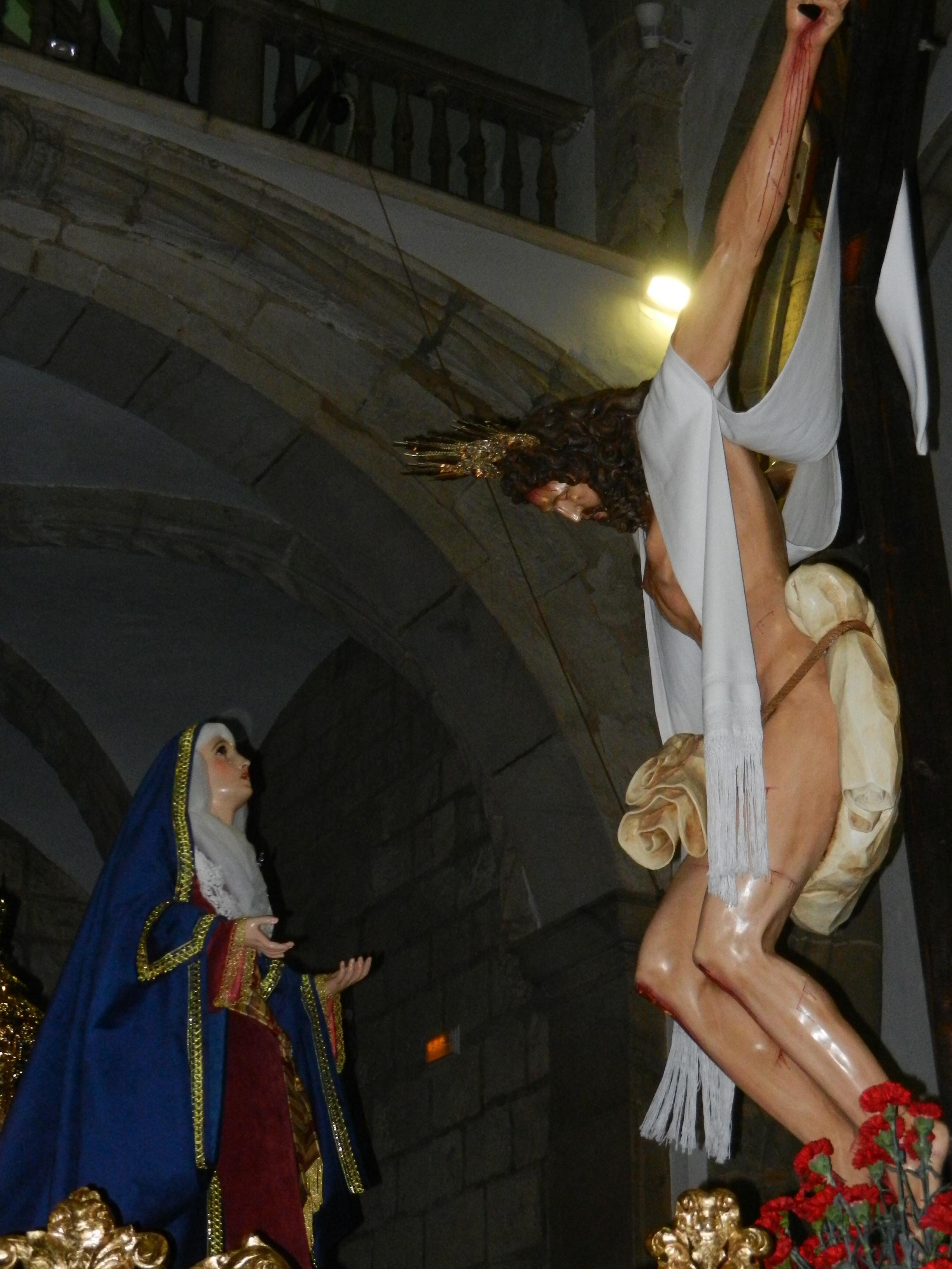 Paso del Cristo y la Magdalena