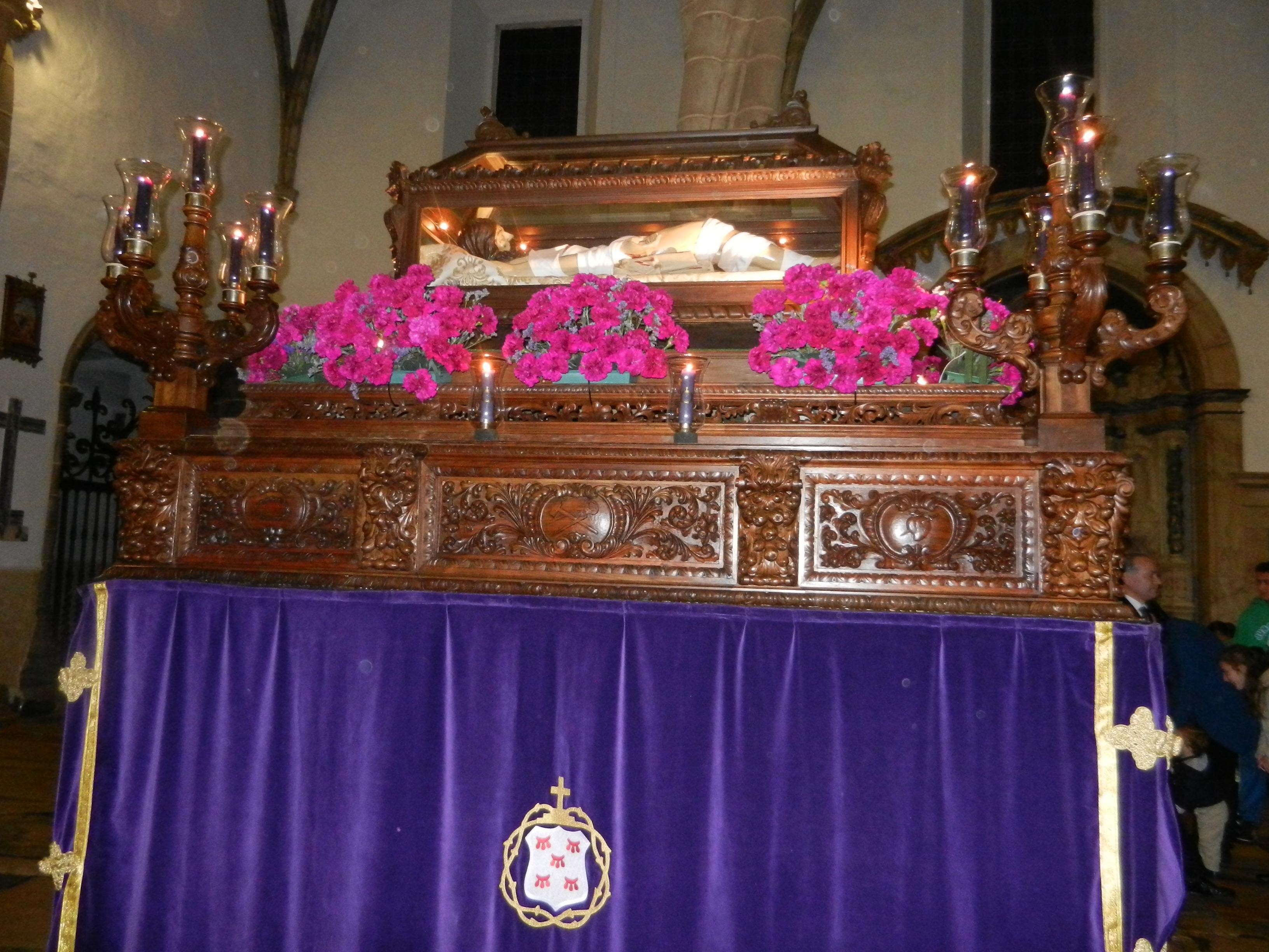 Cristo Yacente antes de recibir sepultura