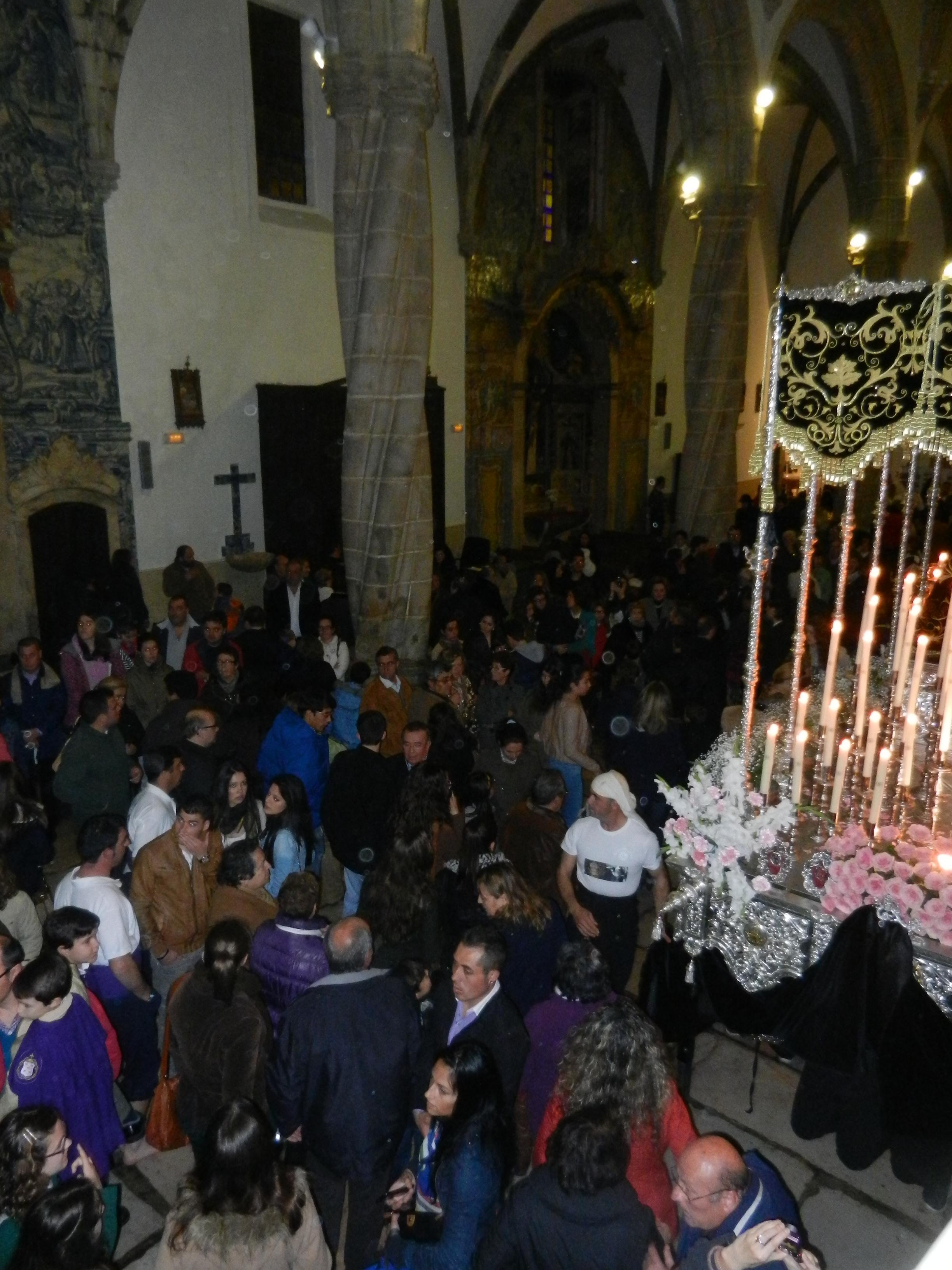 Santa María Magdalena acoge a los fieles