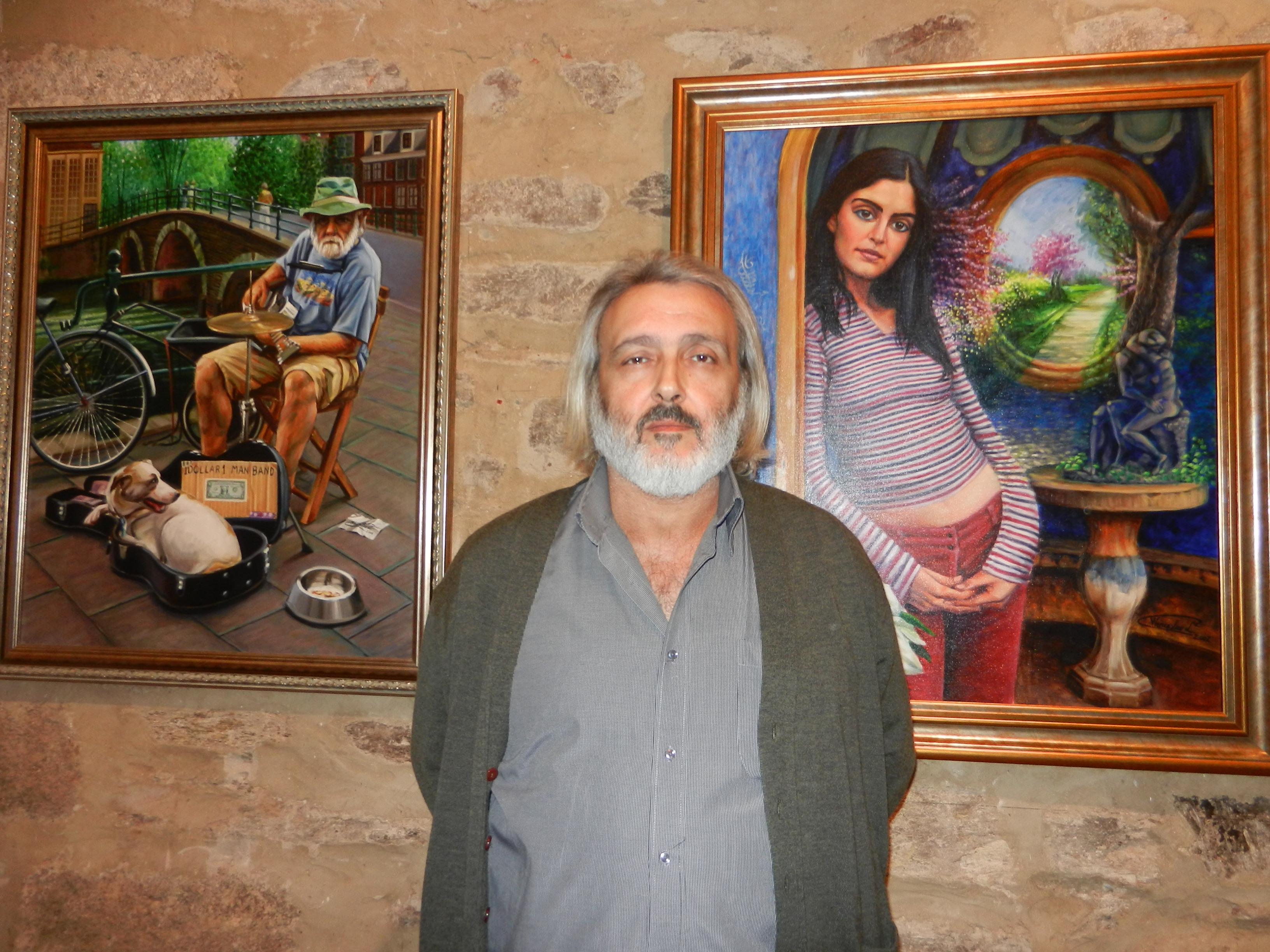 """""""Retrospectiva: 15 años por amor al arte"""" de Wenceslao López Guerrero, esta tarde en el museo"""