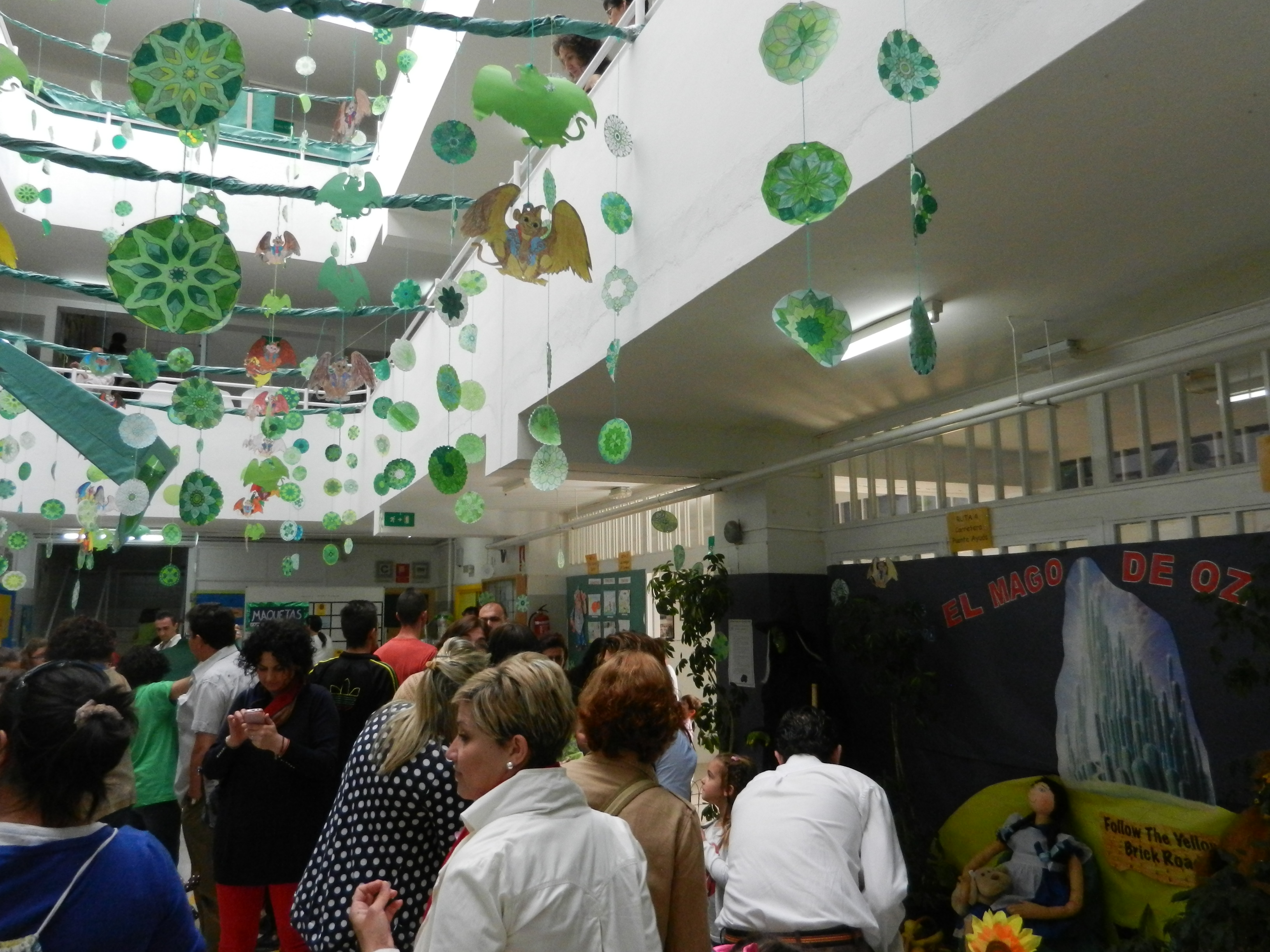 El Mago de Oz cobra vida en el Colegio Francisco Ortiz López