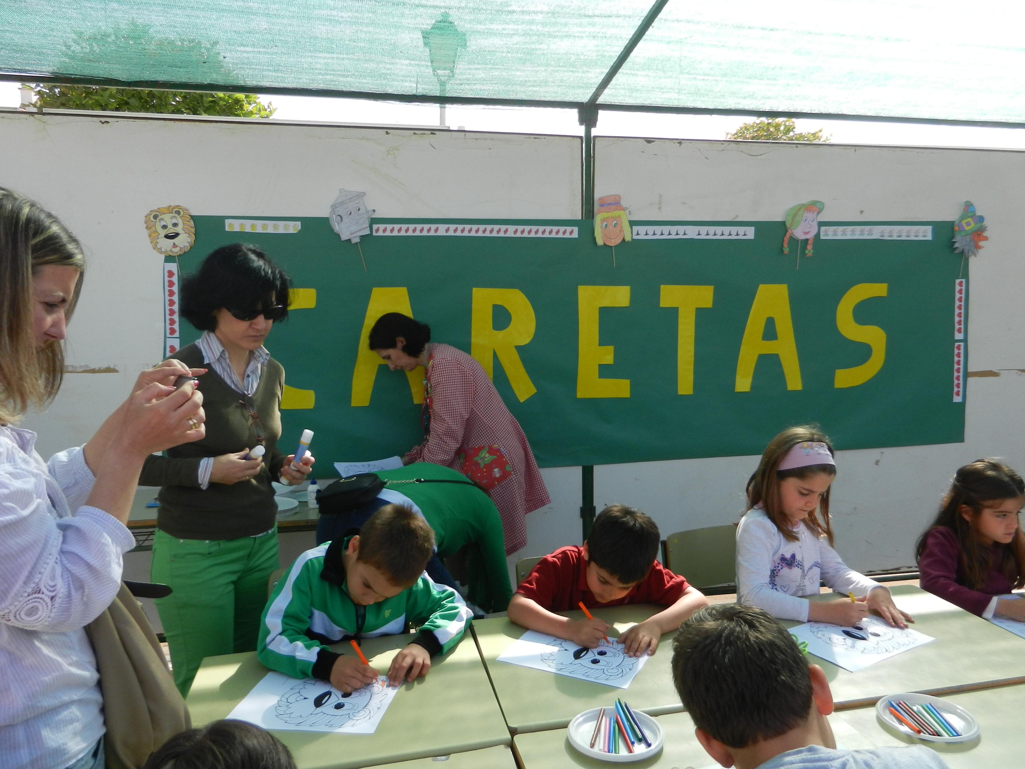 Talleres en el colegio Francisco Ortíz López