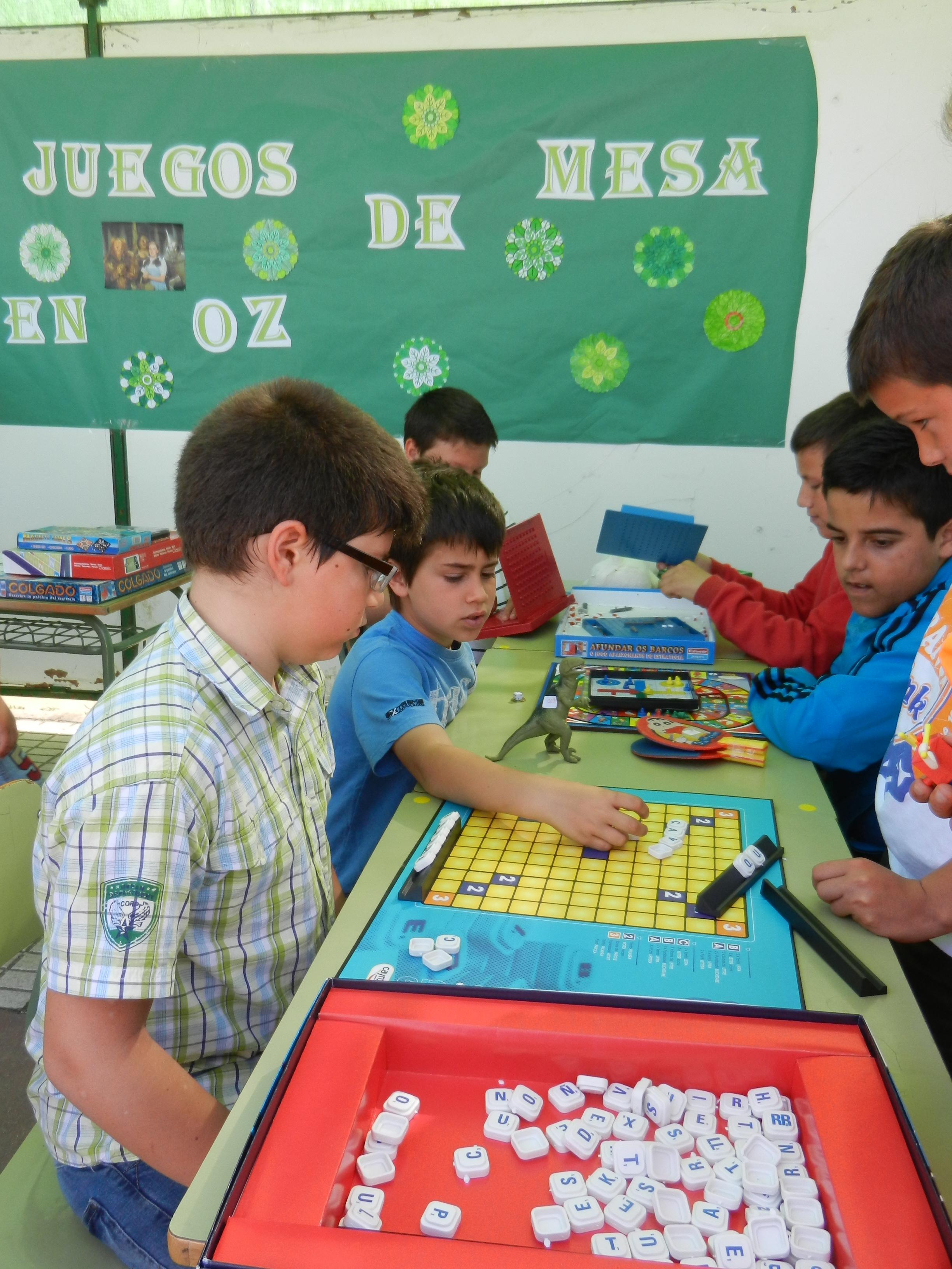 Los alumnos participan en los talleres