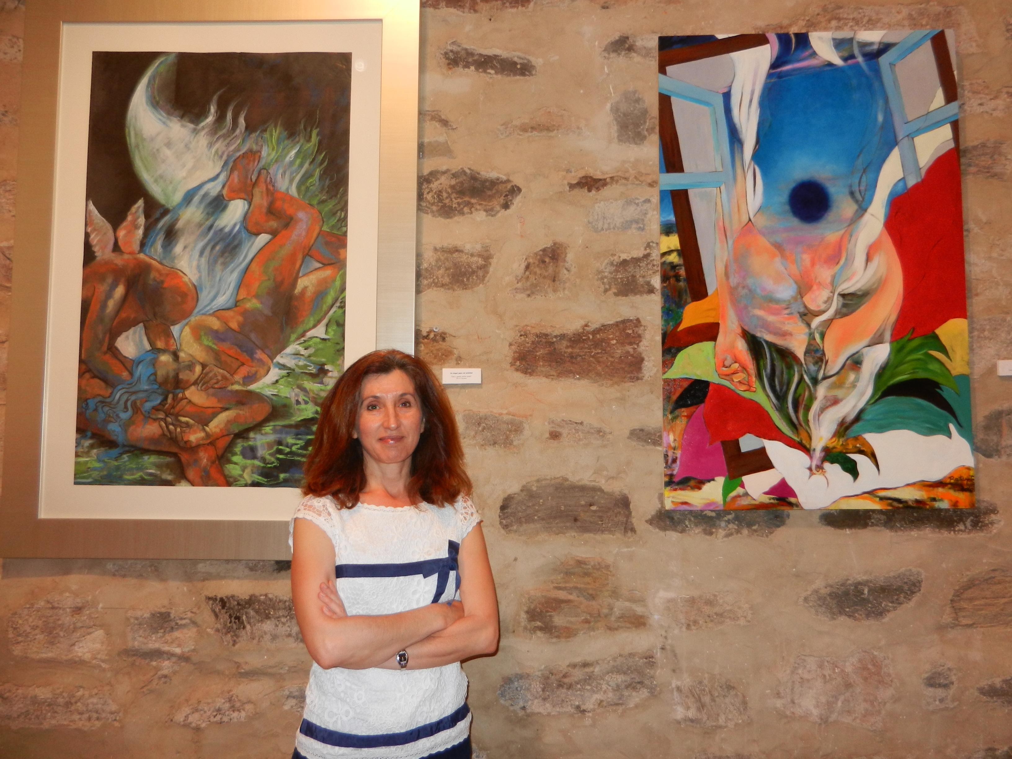 Inauguración de la Exposición de María Luisa Batanete