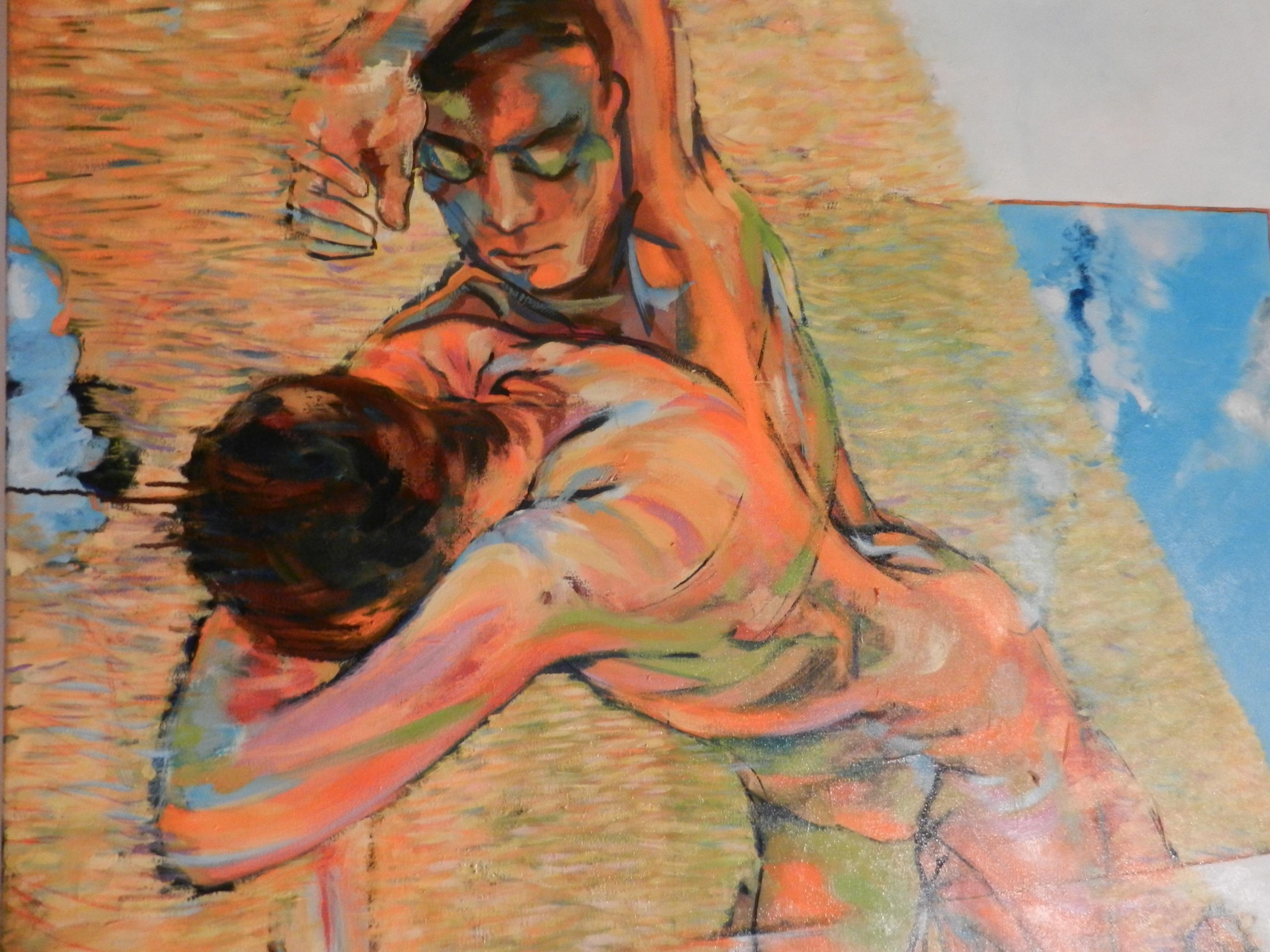 Obras de María Luisa Batanete en el museo
