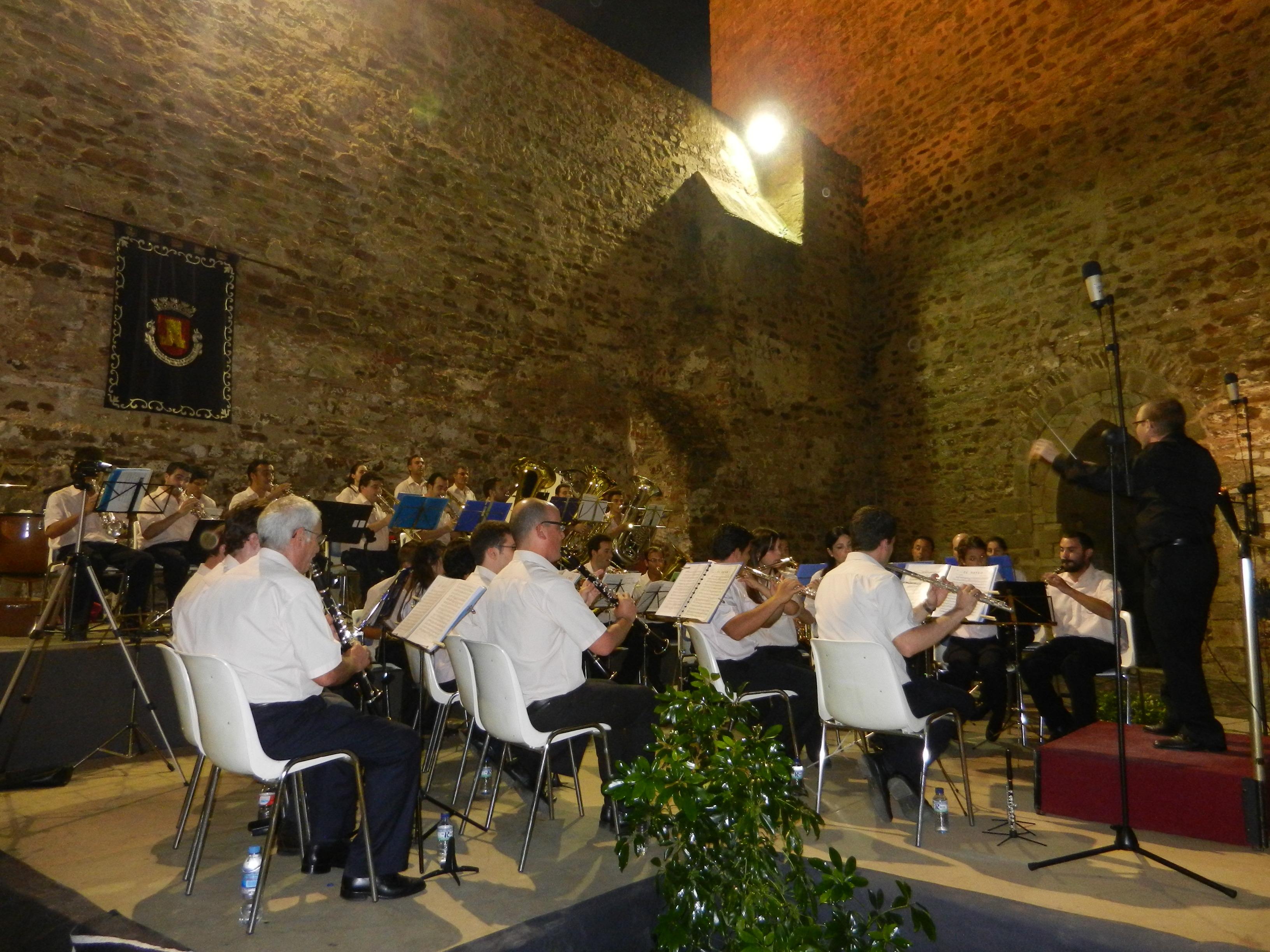 La Banda de Música La Filarmónica en su concierto de verano