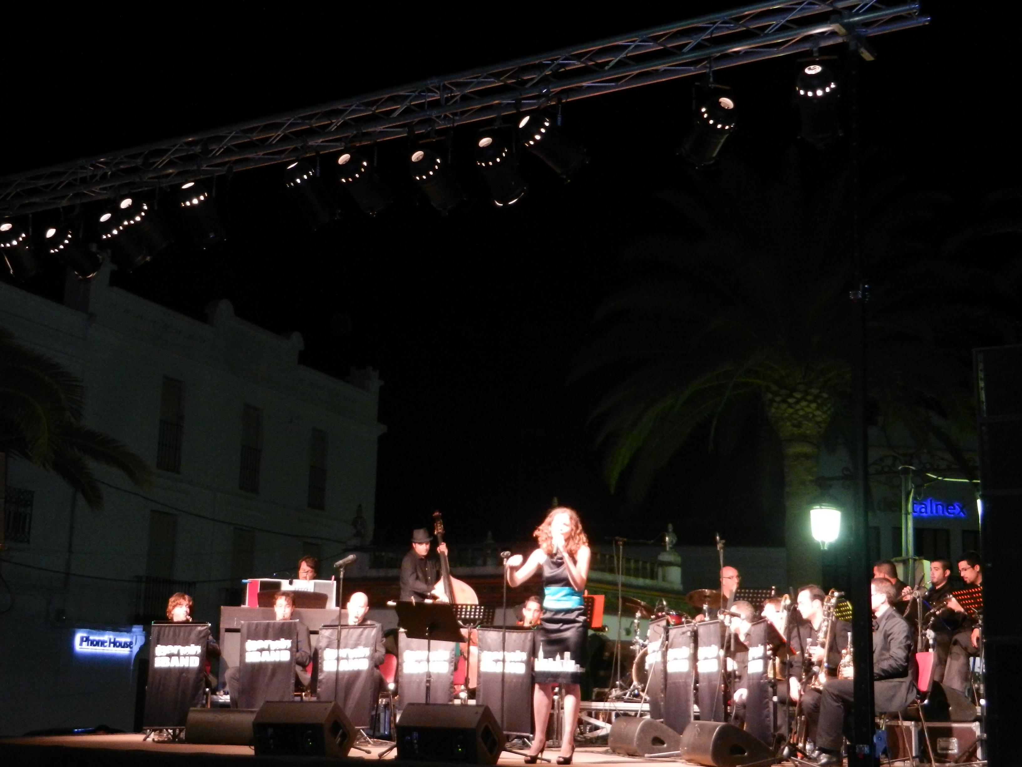 Iberian Big Band  en Olivenza Despierta