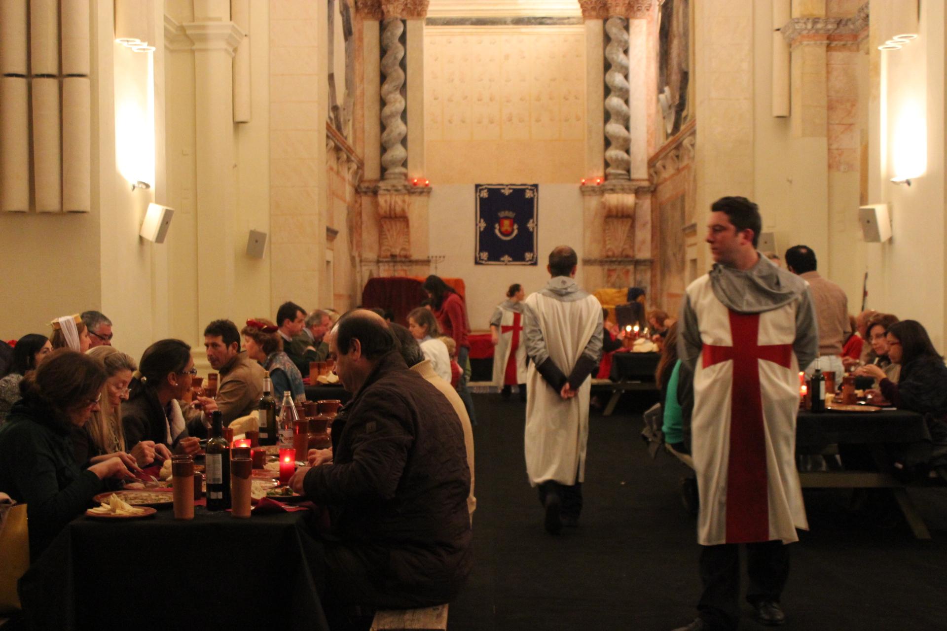 Cena Medieval Oliventia 2013